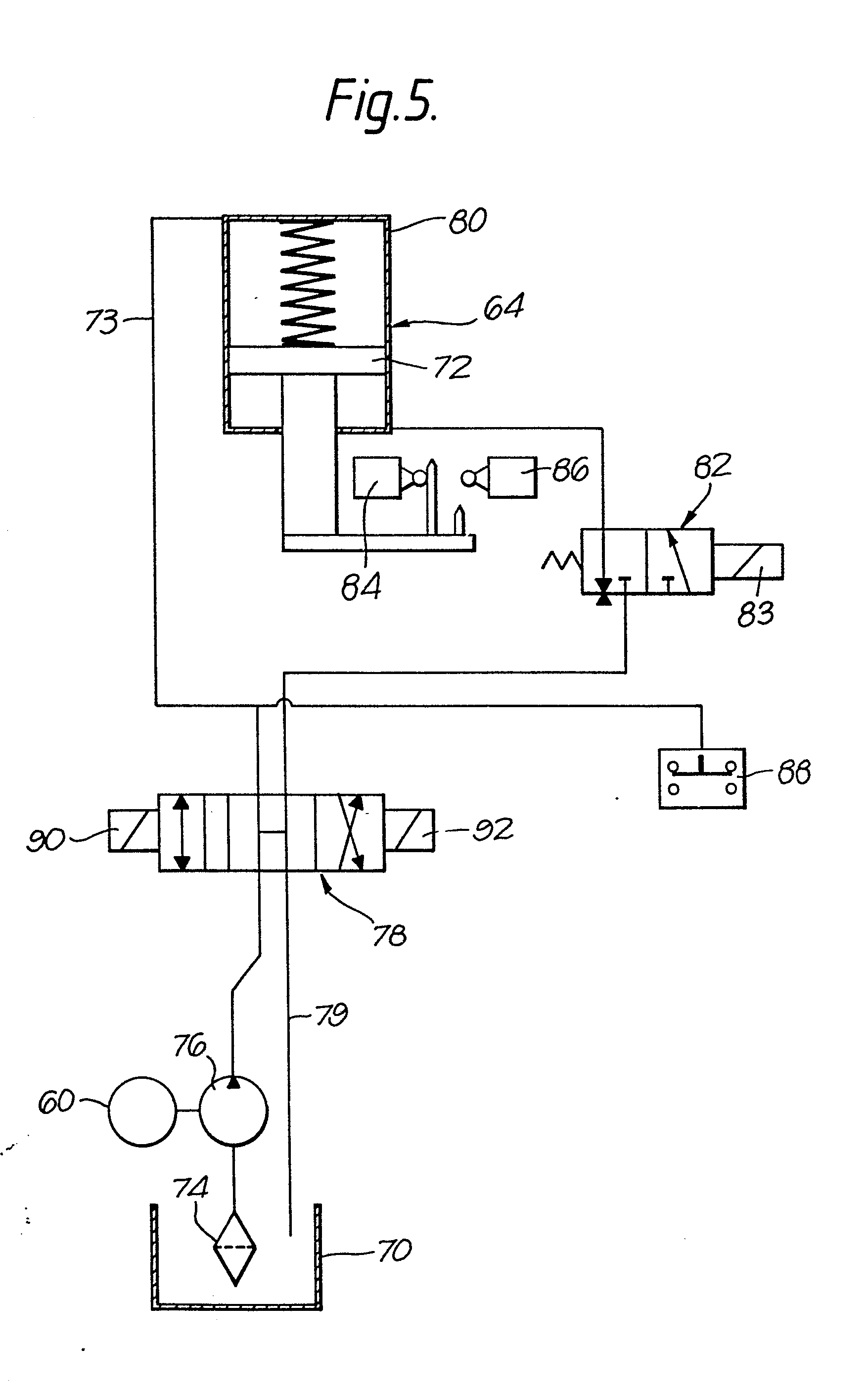 专利ep0076556a2 - presse