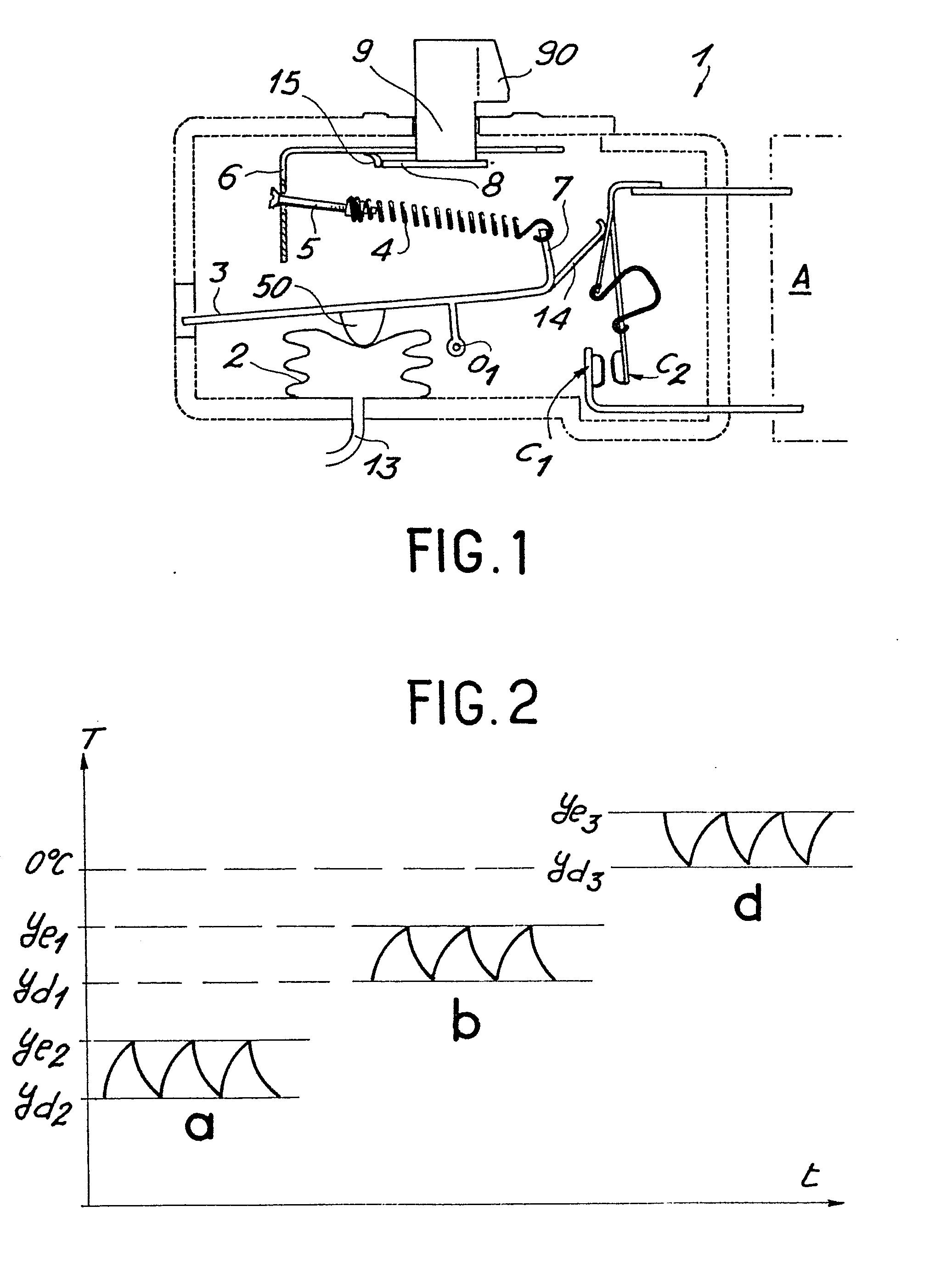 Patent ep0076727a1 interrupteur lectrique thermostatique et r frig rateur - Fonctionnement d un refrigerateur ...