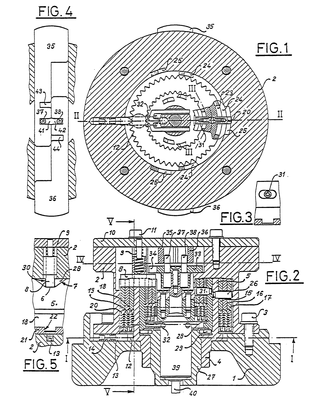 Patent ep0088768b1 serrure a combinaison notamment pour for Serrure pour coffre fort