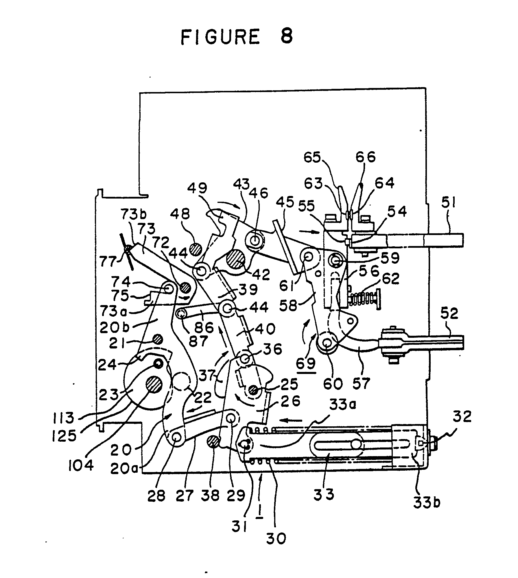 patent ep0089464b1 - air circuit breaker