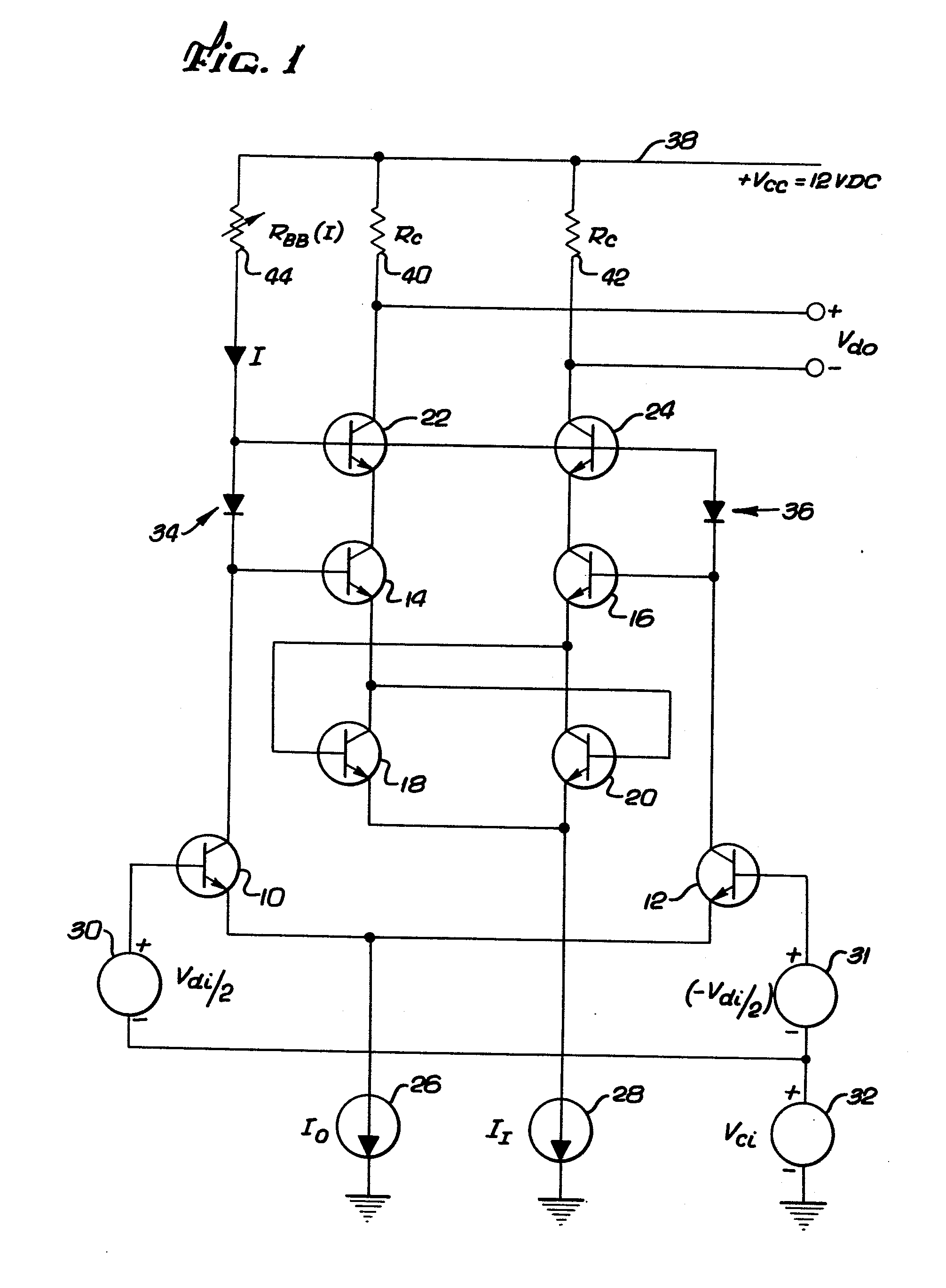 patent ep0095824a2 - npn operational amplifier