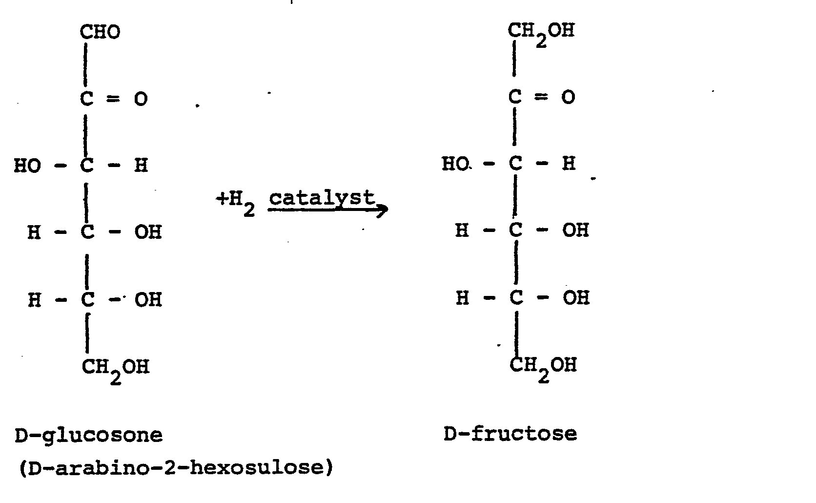 Figure imgb0002  D Fructose