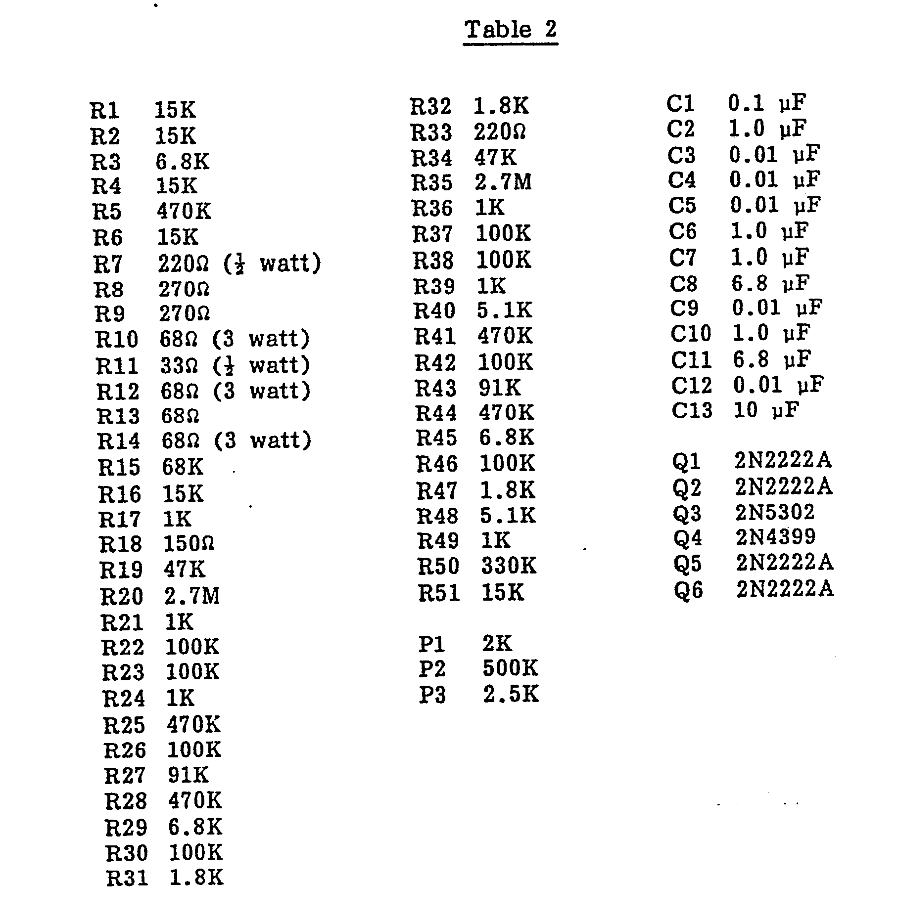 Patent ep0100402a2 printing apparatus and process for 1 resistor values table
