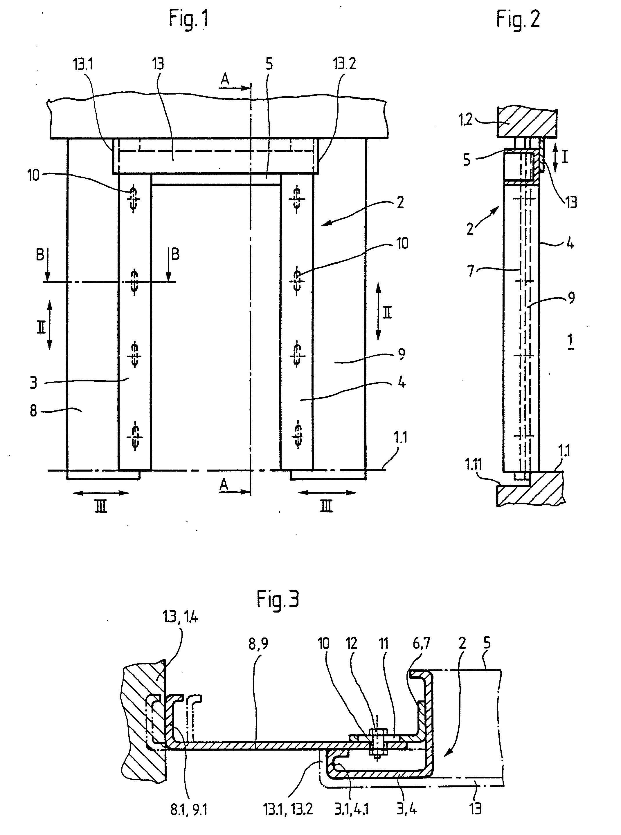 patent ep0103087b1 huisserie de porte pali re d. Black Bedroom Furniture Sets. Home Design Ideas