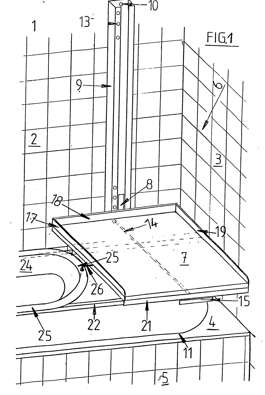 patent ep0111888a1 wickeltisch zum wickeln von s uglingen google patents. Black Bedroom Furniture Sets. Home Design Ideas