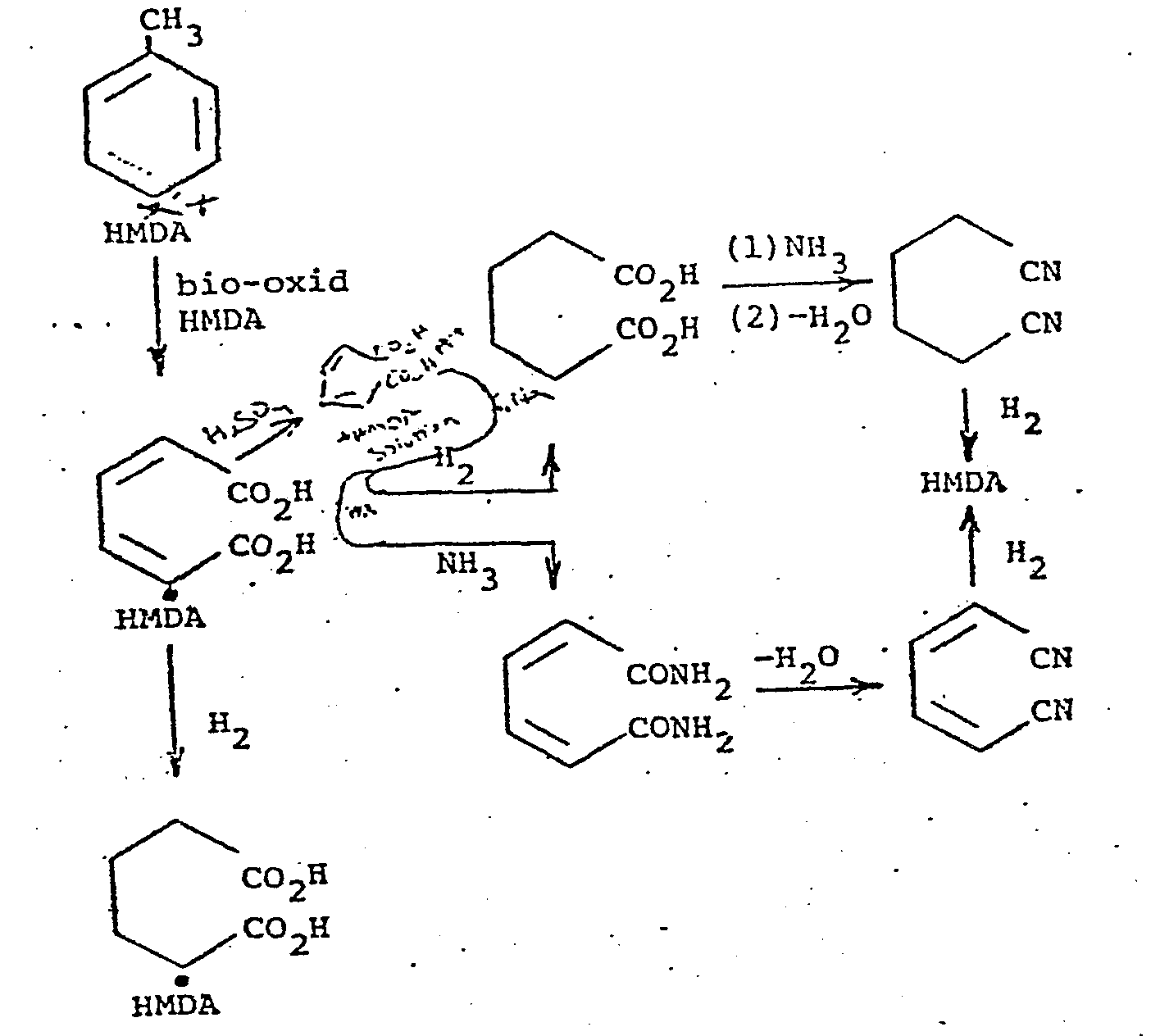 patent ep0117048a2 - production of nylon 6 6 salt