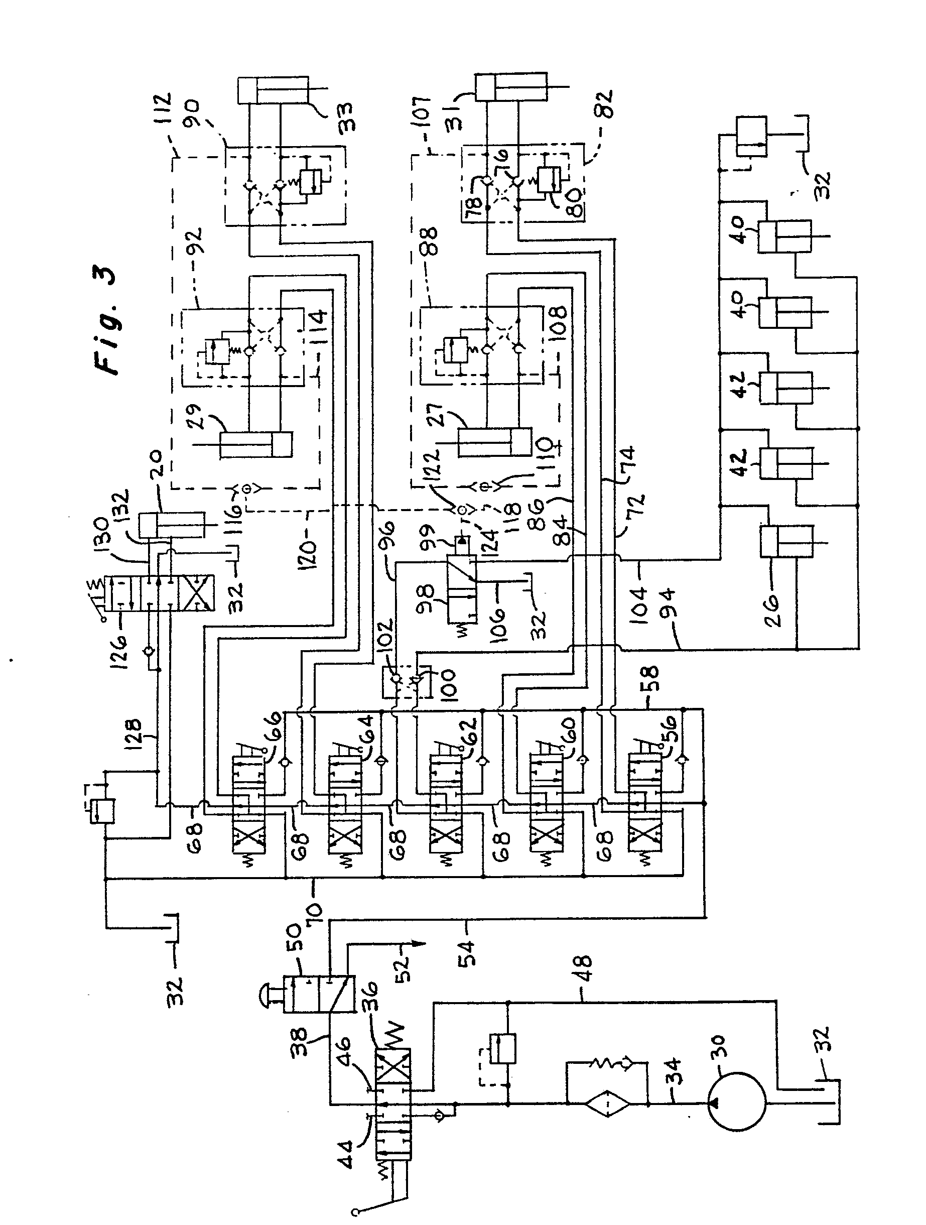 patent ep0124024b1 - hydraulic circuit for self-undecking crane