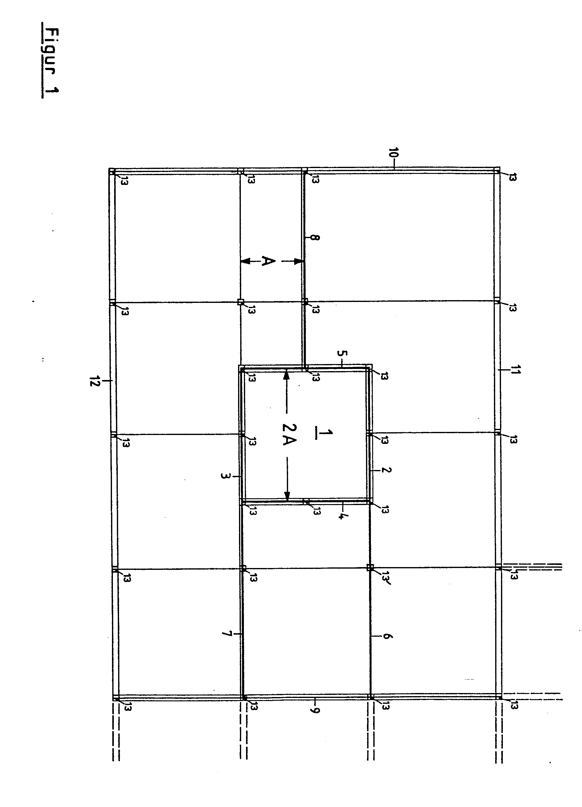 Holzskelettbauweise grundriss  Patent EP0124733A2 - Dwelling house - Google Patents