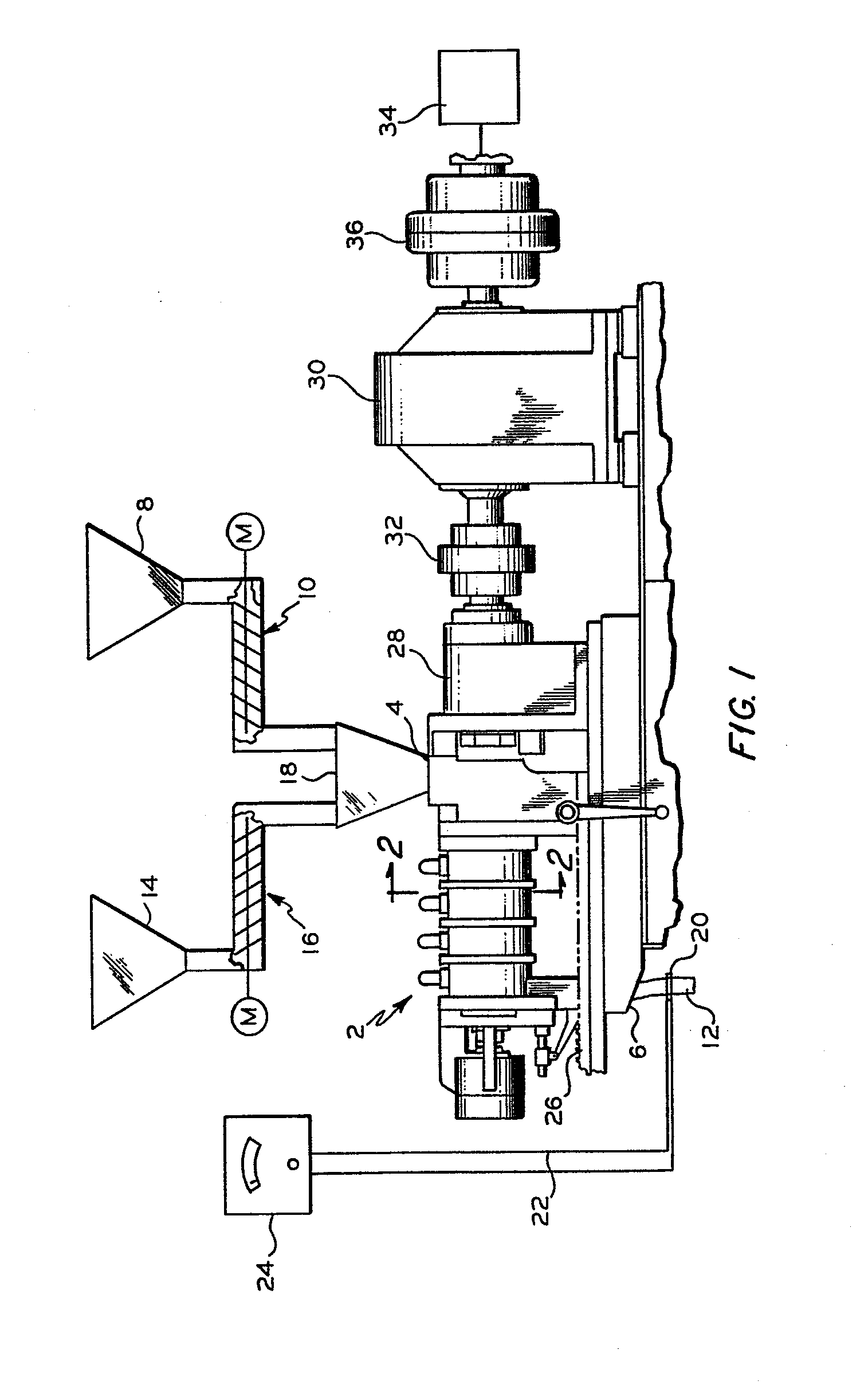 Patent Ep0125548a2 Continuous Mixer Google Patents Timer Control Circuit Diagram Moreover Using 555 Drawing