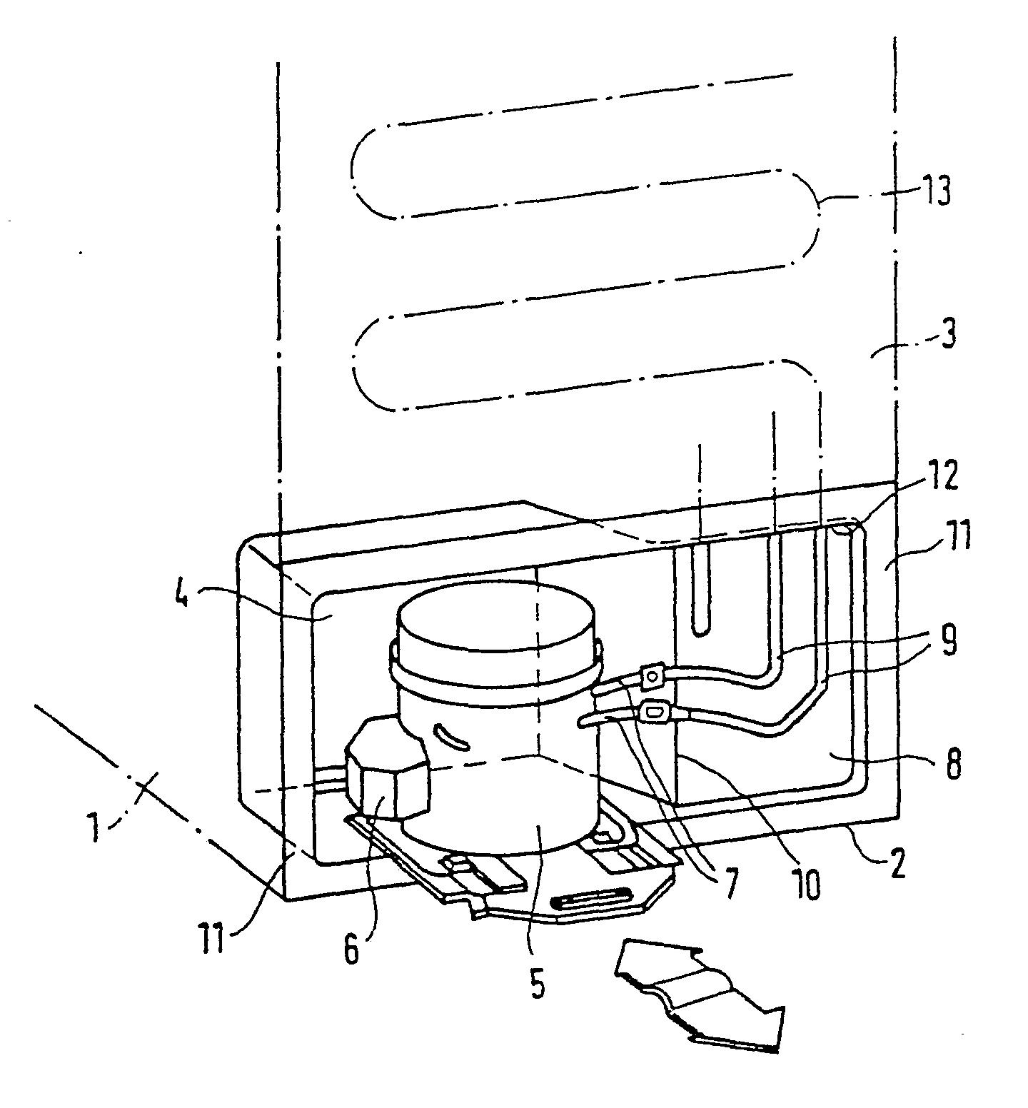 patent ep0127791b2 k hlger t mit einer nische f r einen motorkompressor google patents. Black Bedroom Furniture Sets. Home Design Ideas