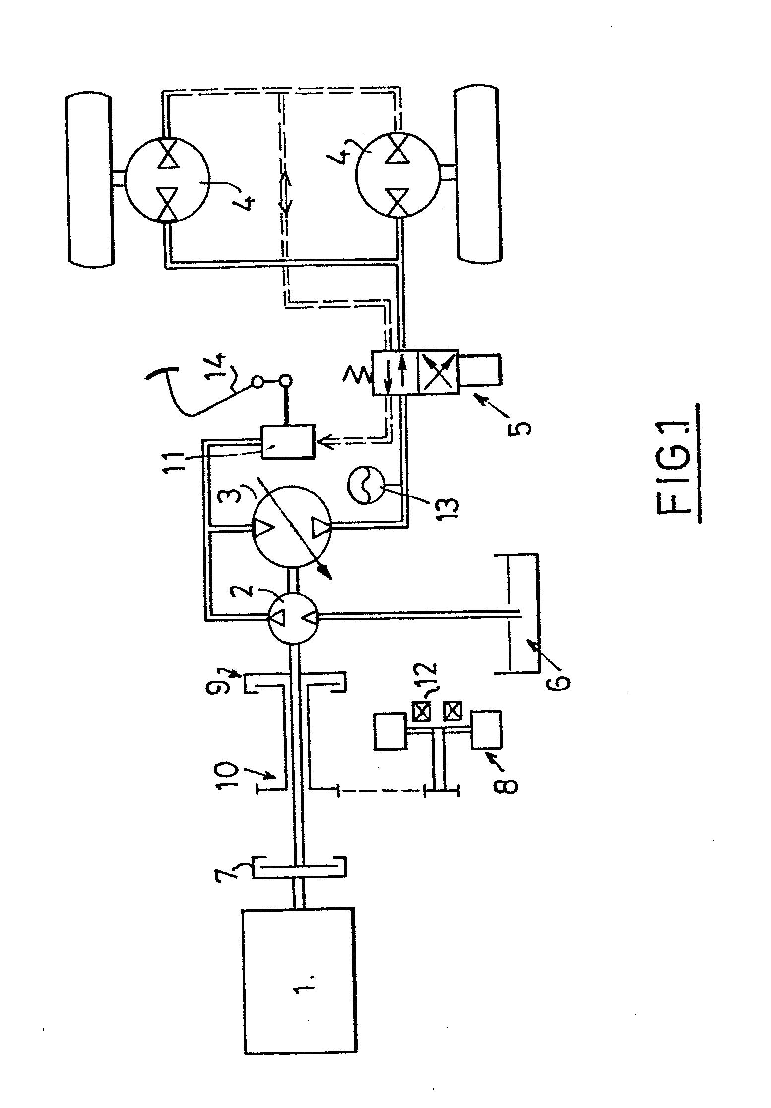 patent ep0131505a1 hydrostatic transmission with integral braking energy recuperation google. Black Bedroom Furniture Sets. Home Design Ideas