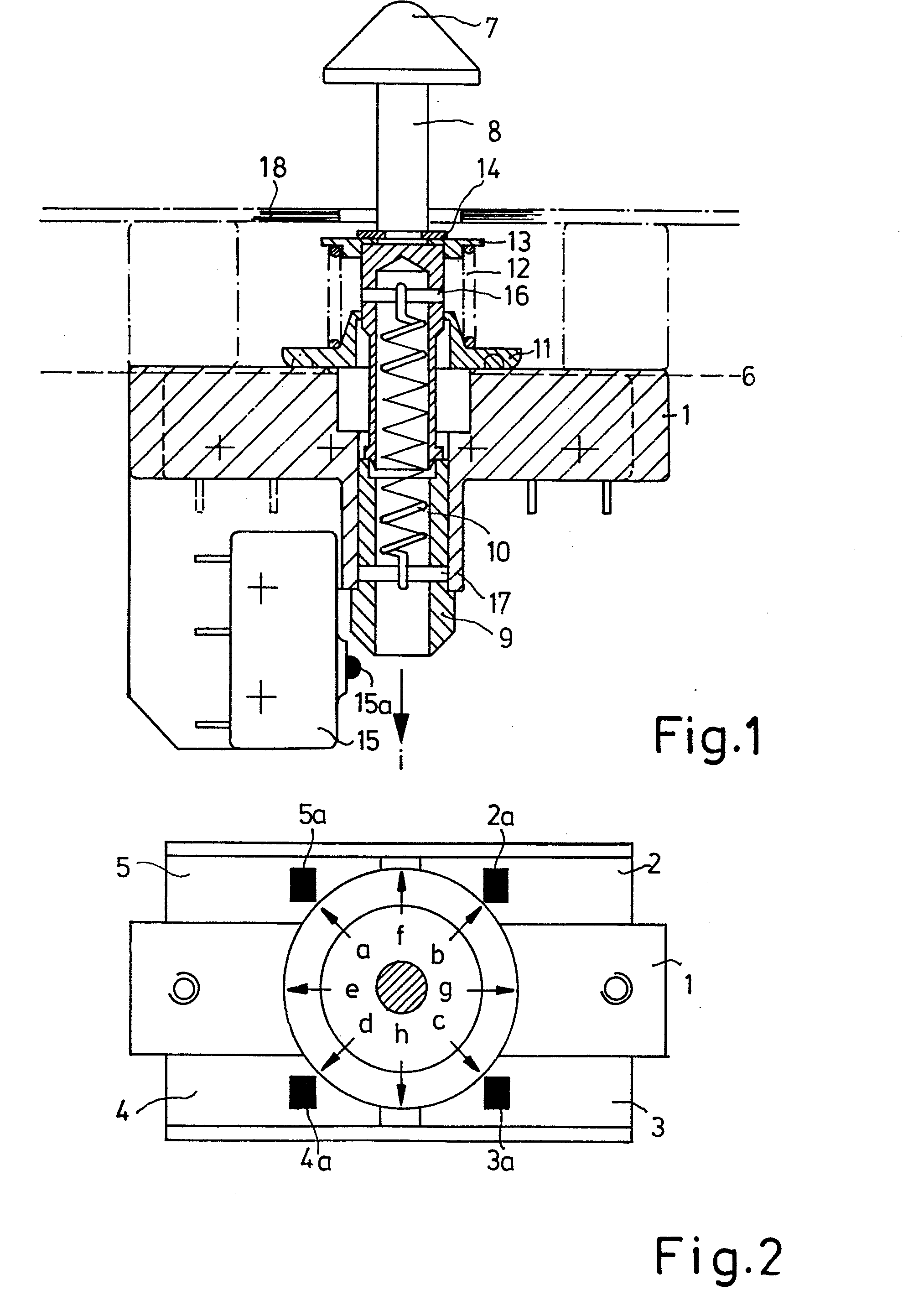 专利ep0134612a2 - schalteranordnung
