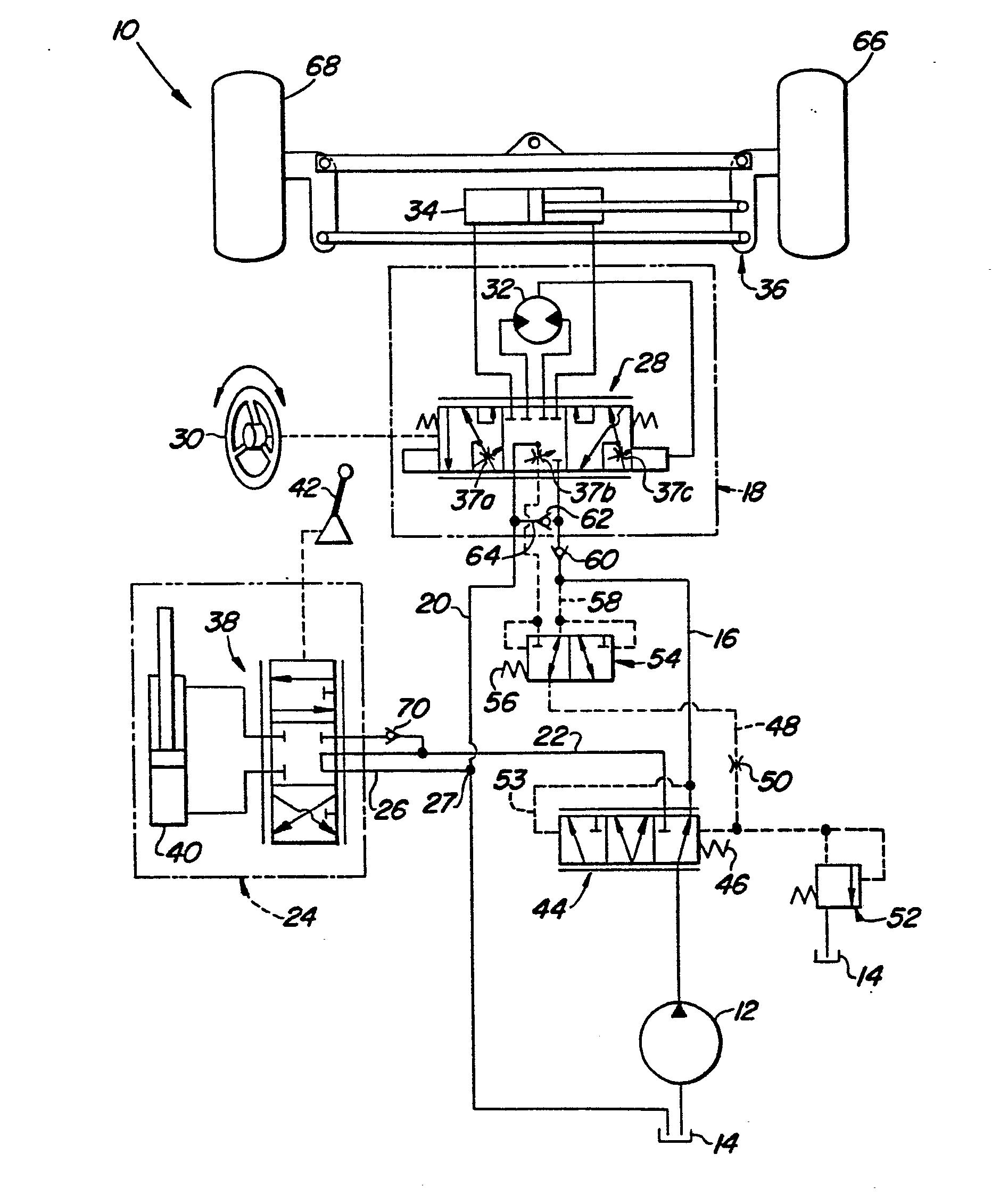 patent ep0137184a2 hydrauliksystem mit einer pumpe mit unver nderlicher f rdermenge google. Black Bedroom Furniture Sets. Home Design Ideas