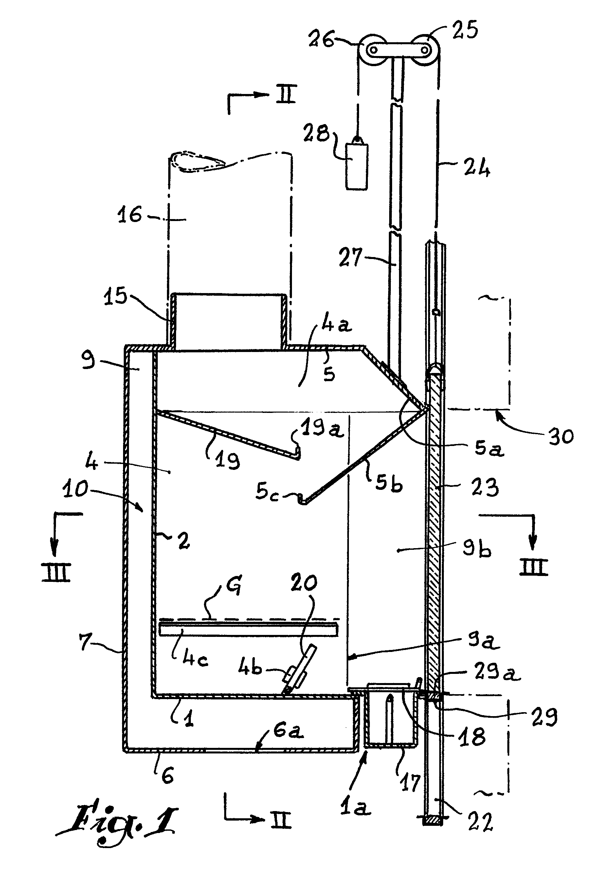 Patent ep0143724a1 foyer pour chemin e mixte destin for Construire cheminee foyer ouvert