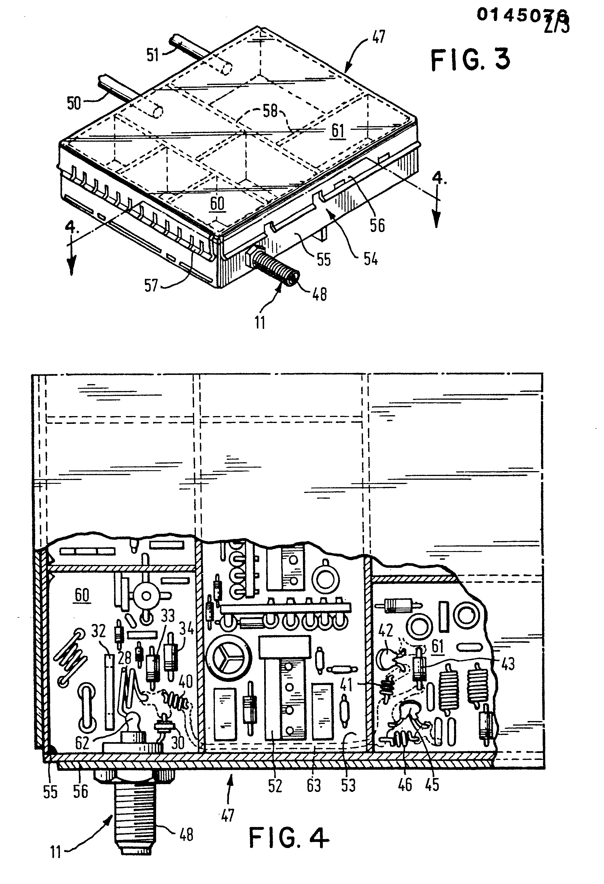 patent ep0145076a2 - television receiver input circuit