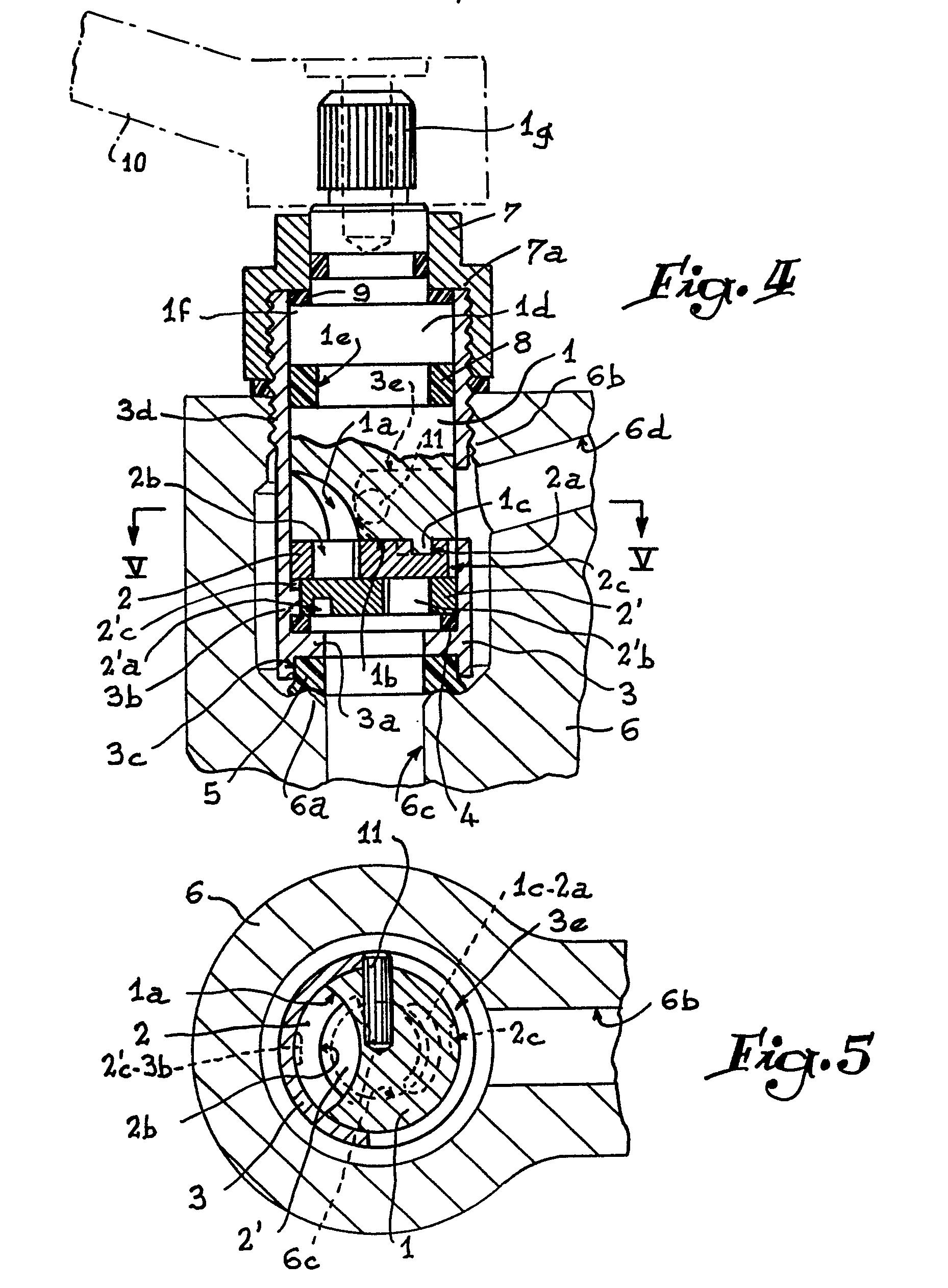 Boisseau Ceramique : Patent EP0146480A1 – T?te de robinet perfection?e – Google Patents