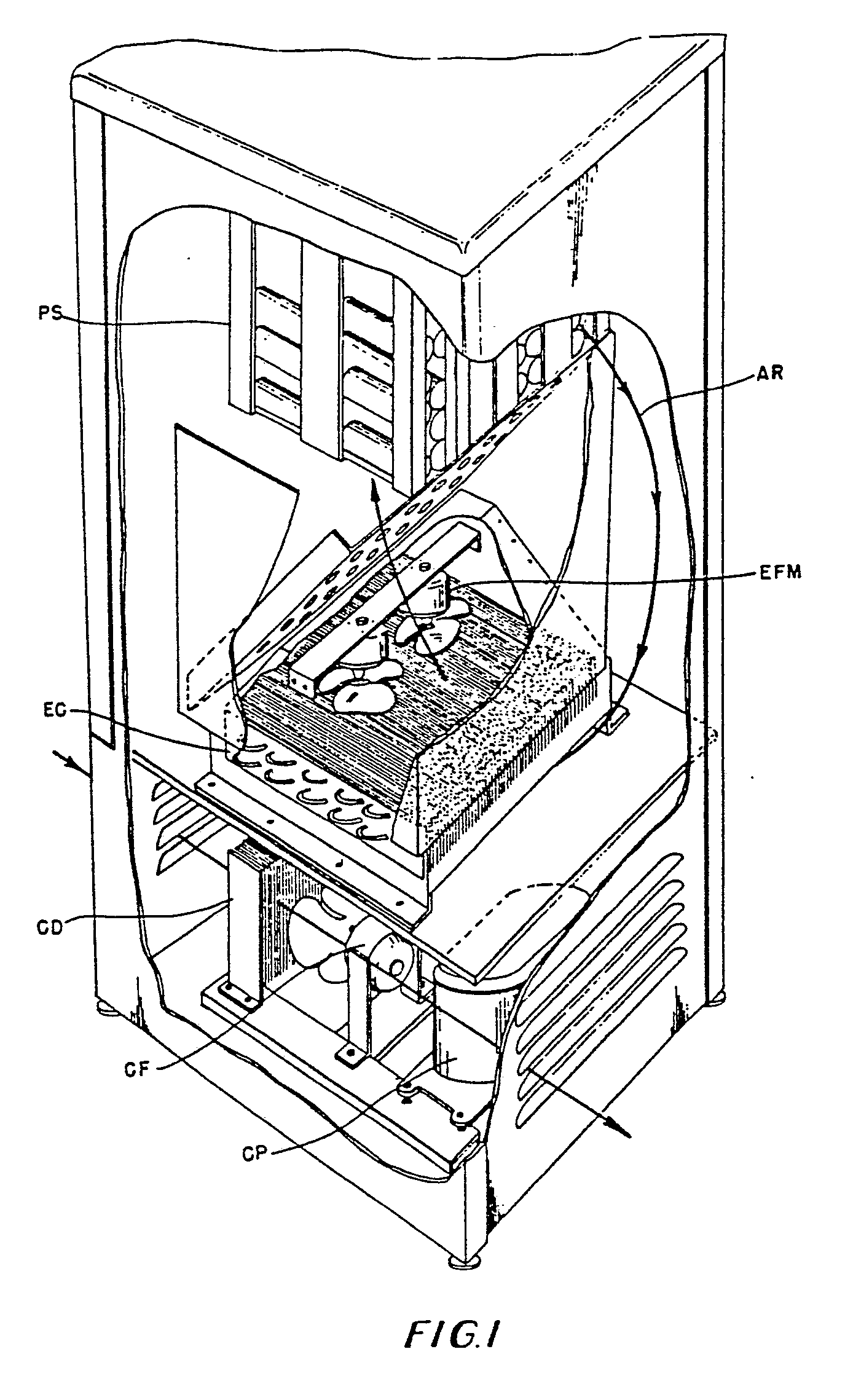 patent ep0151496b1 - refrigeration system for a chilled product vending system