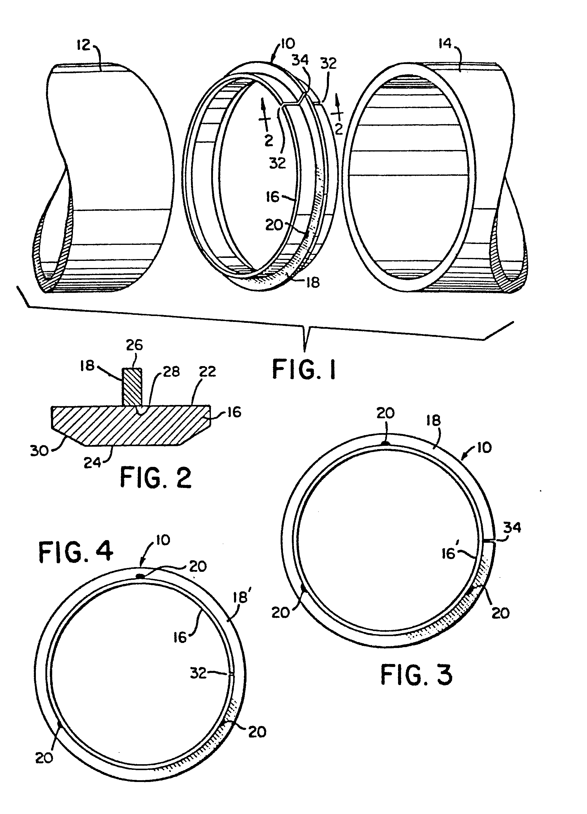 Patent Ep0153979a1 Partially Consumable Spacer Chill