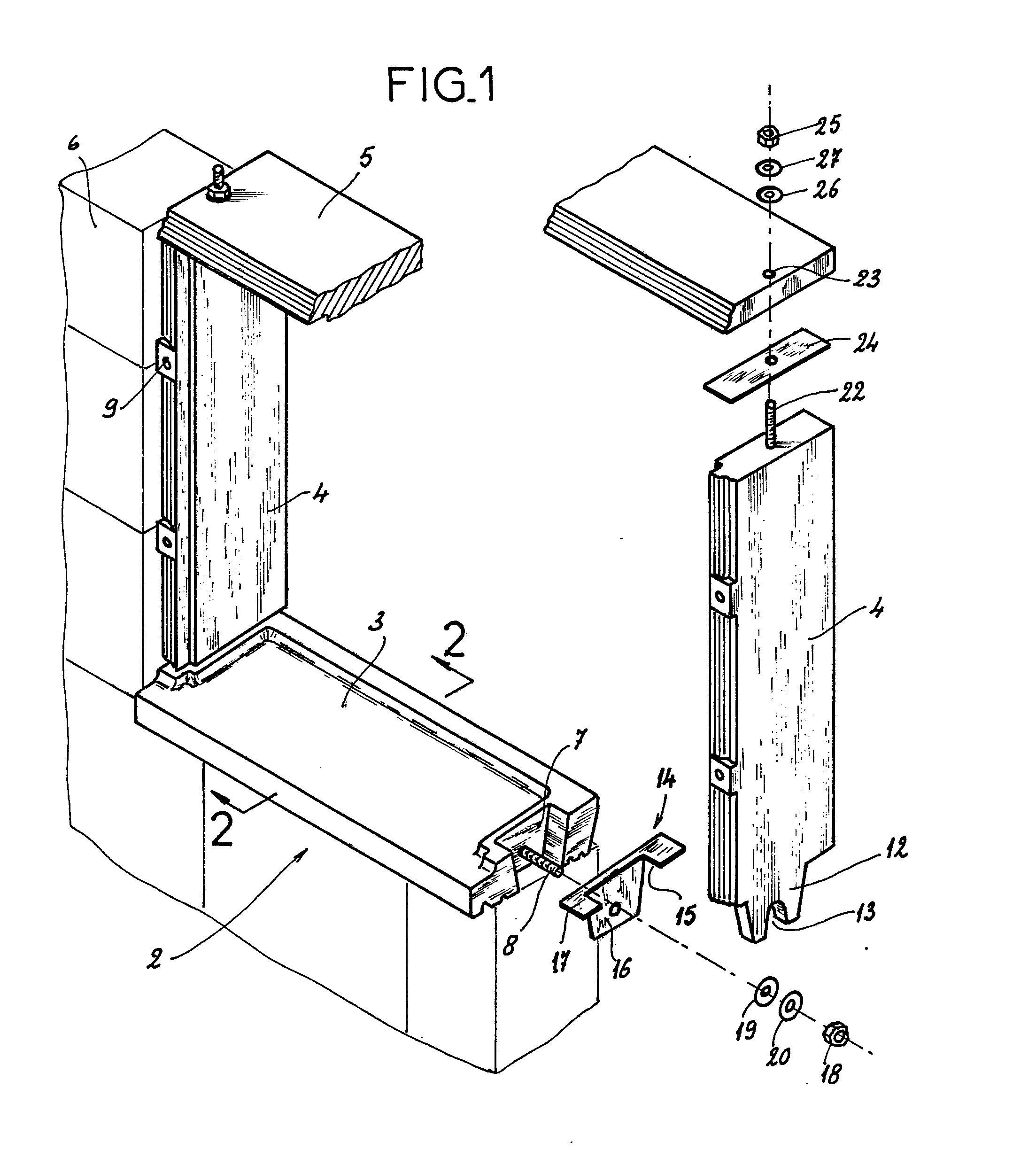 patent ep0155220a2 tableau pr fabriqu pour l 39 quipement. Black Bedroom Furniture Sets. Home Design Ideas