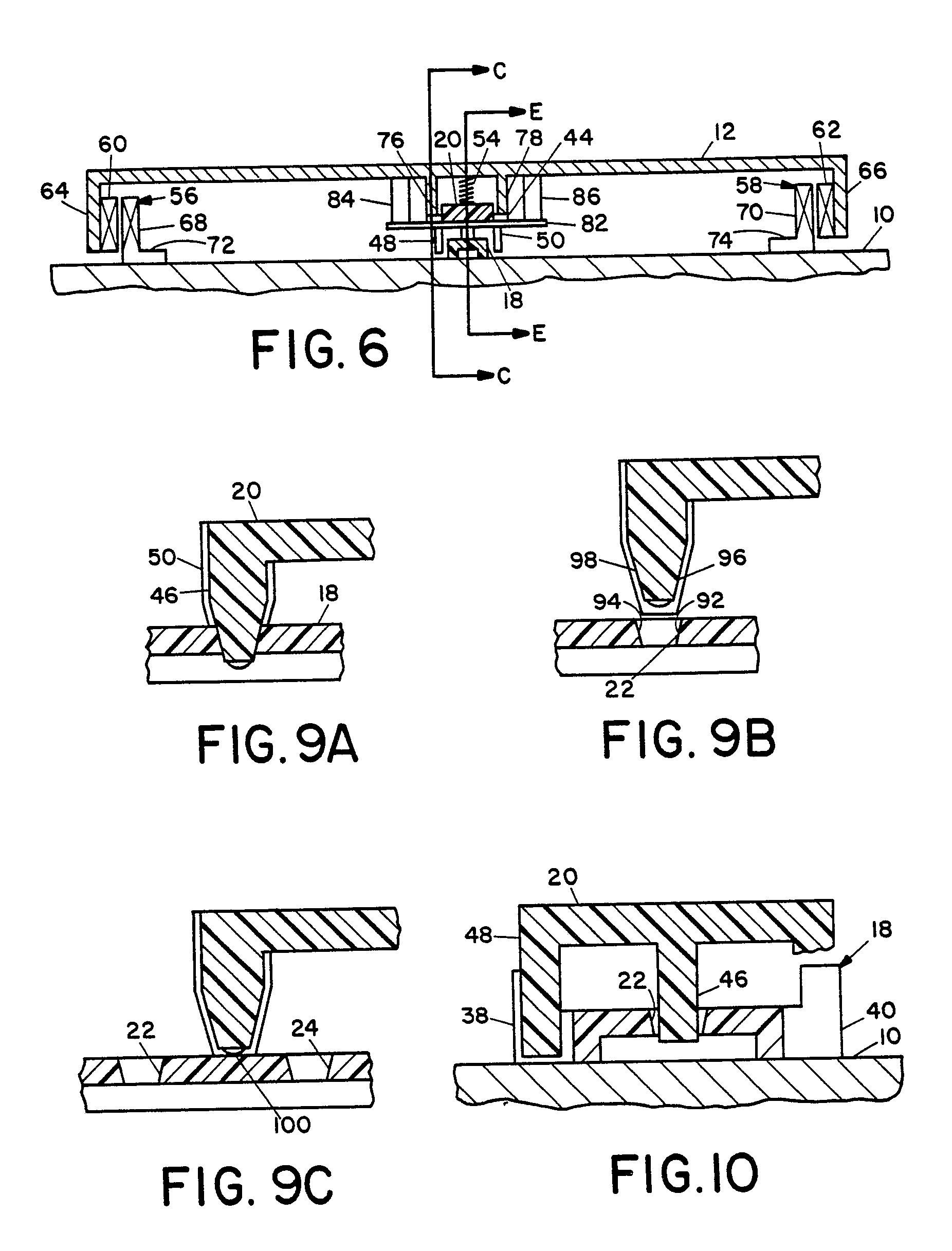 patent ep0157570b1 - latch and detent mechanism for sliding tray