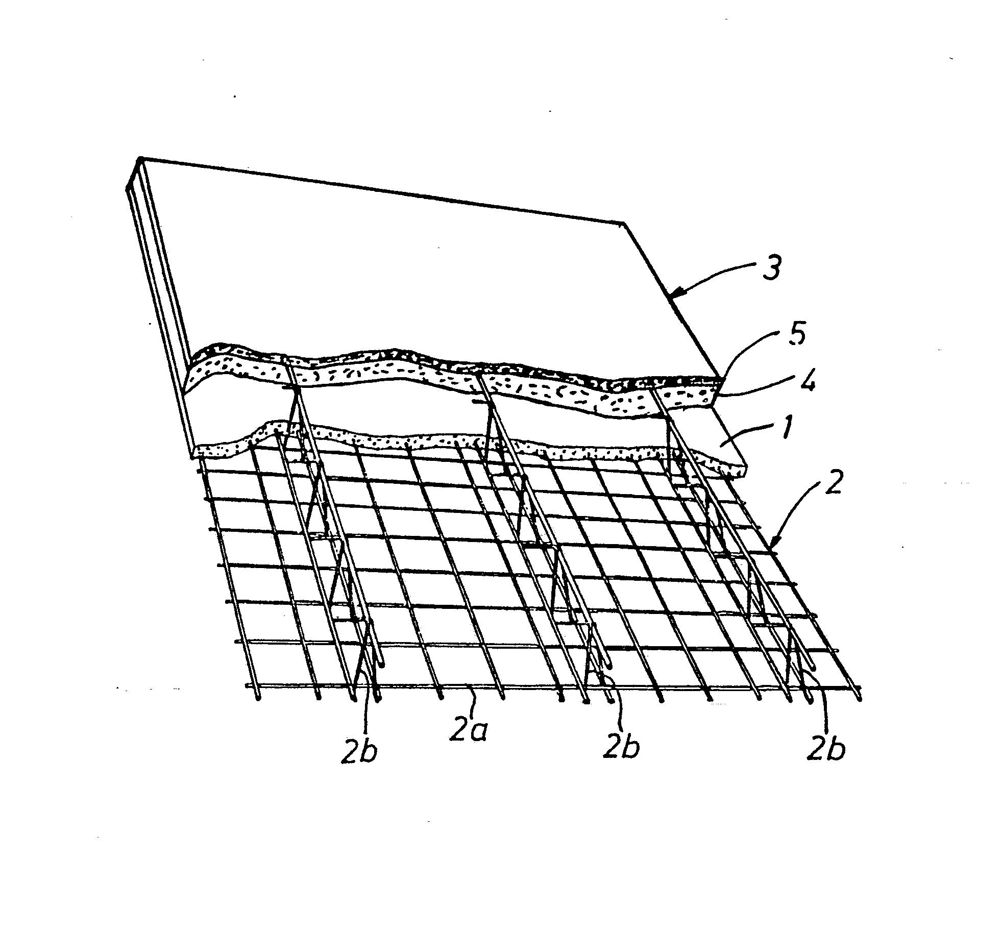 Concrete Slab Drawings : Patent ep a concrete element for structural floor