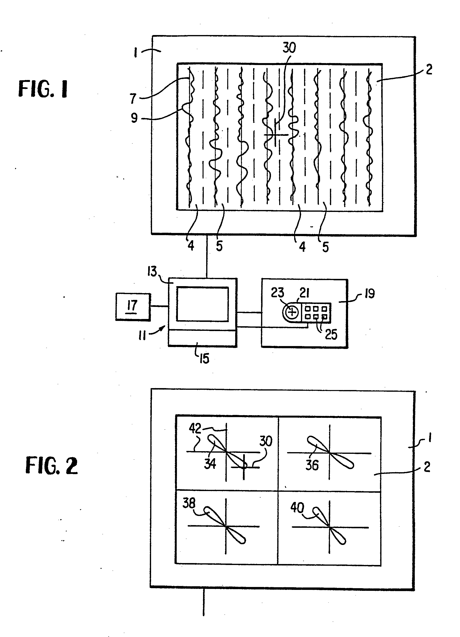 Patent EP0165761A2 - Method and apparatus for displaying eddy ...