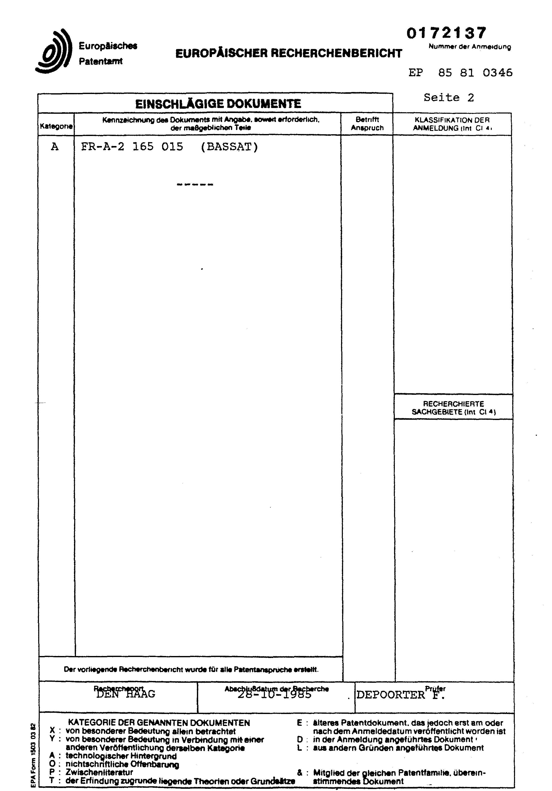 Einbruchhemmende tür  Patent EP0172137A1 - Einbruchhemmende Tür - Google Patents