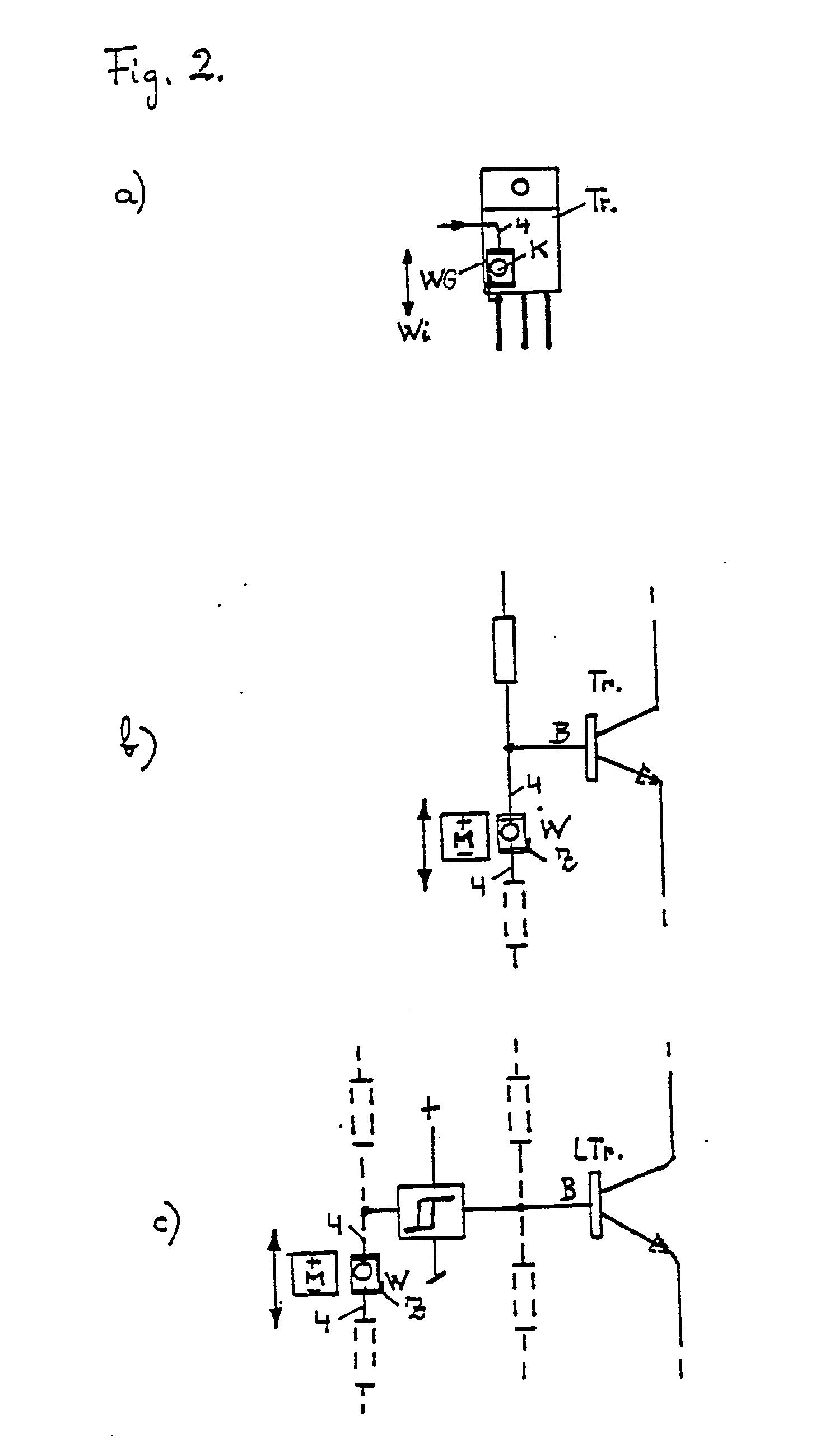 Patent EP0179826B1 - Miniatur-wippschalter mit impulsaufbereiter ...