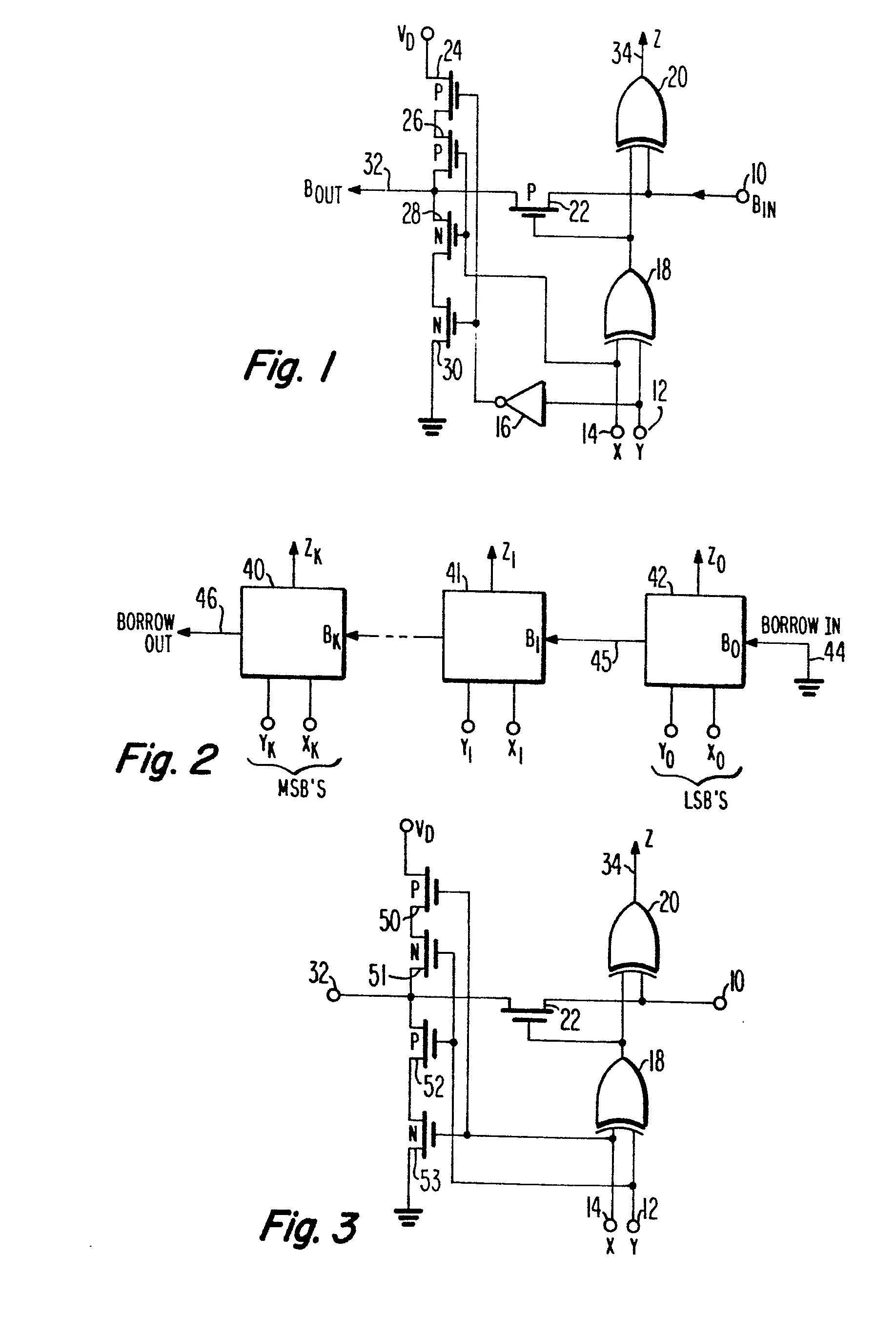 patent ep0185504a2 - a binary subtraction circuit