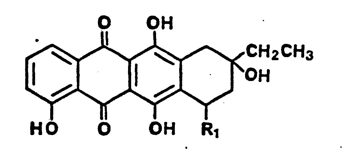 patent ep0186807a2 anthracyclin derivate ein mikrobiologisches verfahren zu ihrer herstellung. Black Bedroom Furniture Sets. Home Design Ideas