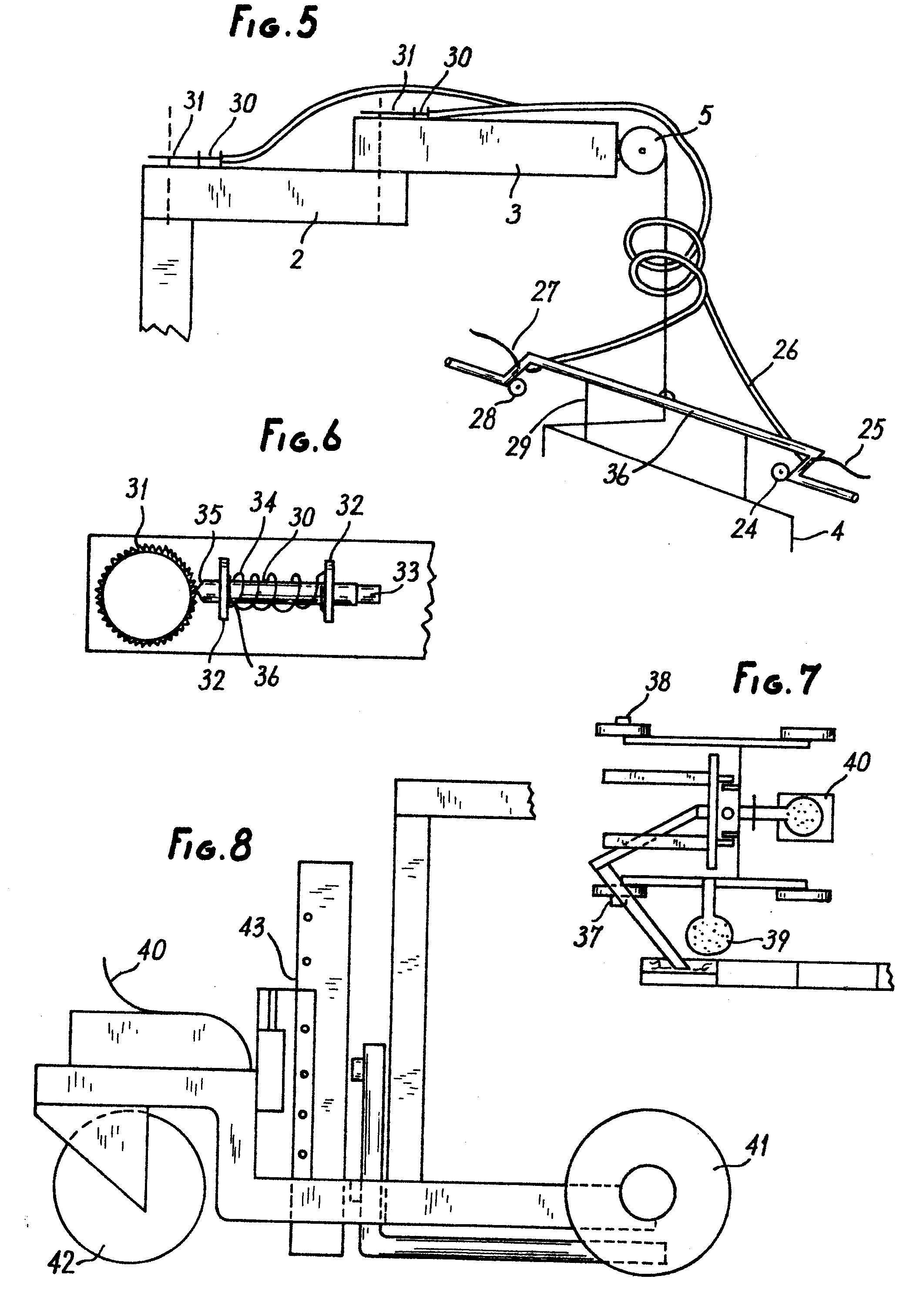 patent ep0189356a2 ger t zum verlegen von bordsteinen verbundpflastersteinen und aehnliches. Black Bedroom Furniture Sets. Home Design Ideas