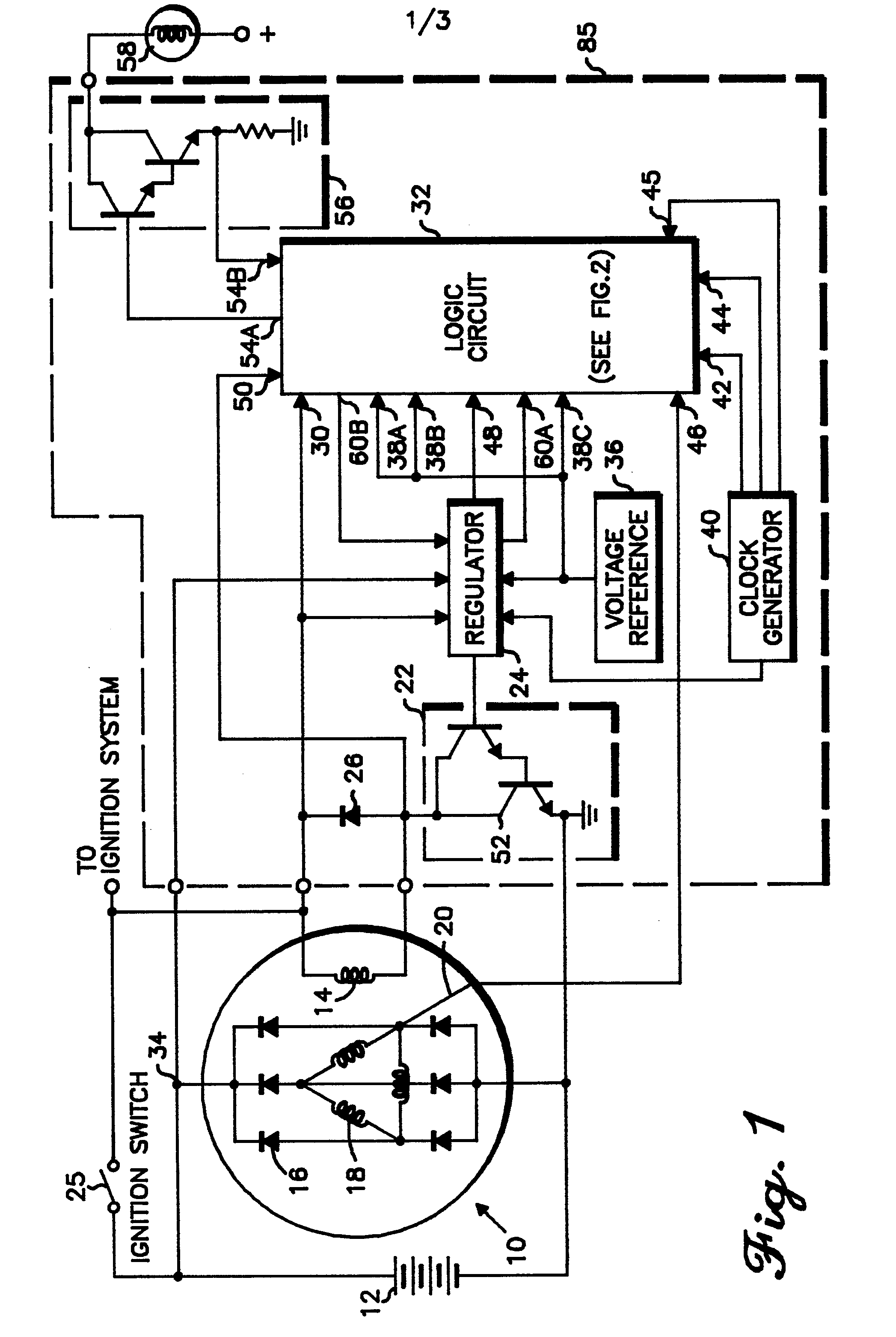 patent ep0191571a1 - alternator regulator protection circuit