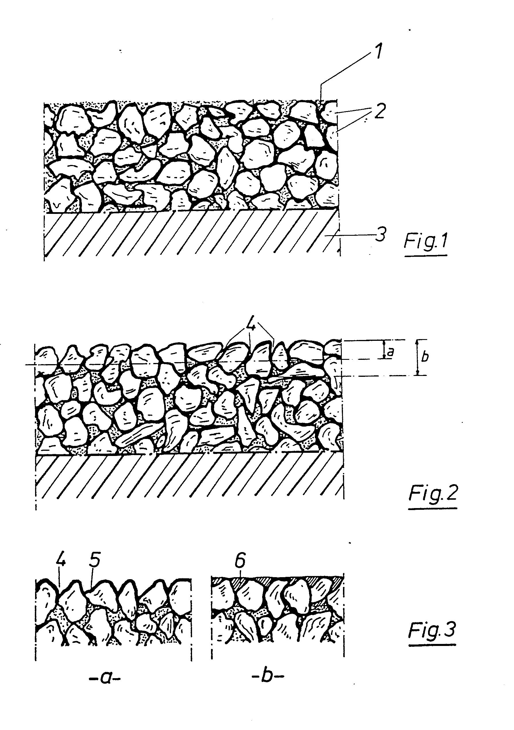 patent ep0198097a1 verfahren zur herstellung strukturierter und oder farbiger bitumenhaltiger. Black Bedroom Furniture Sets. Home Design Ideas