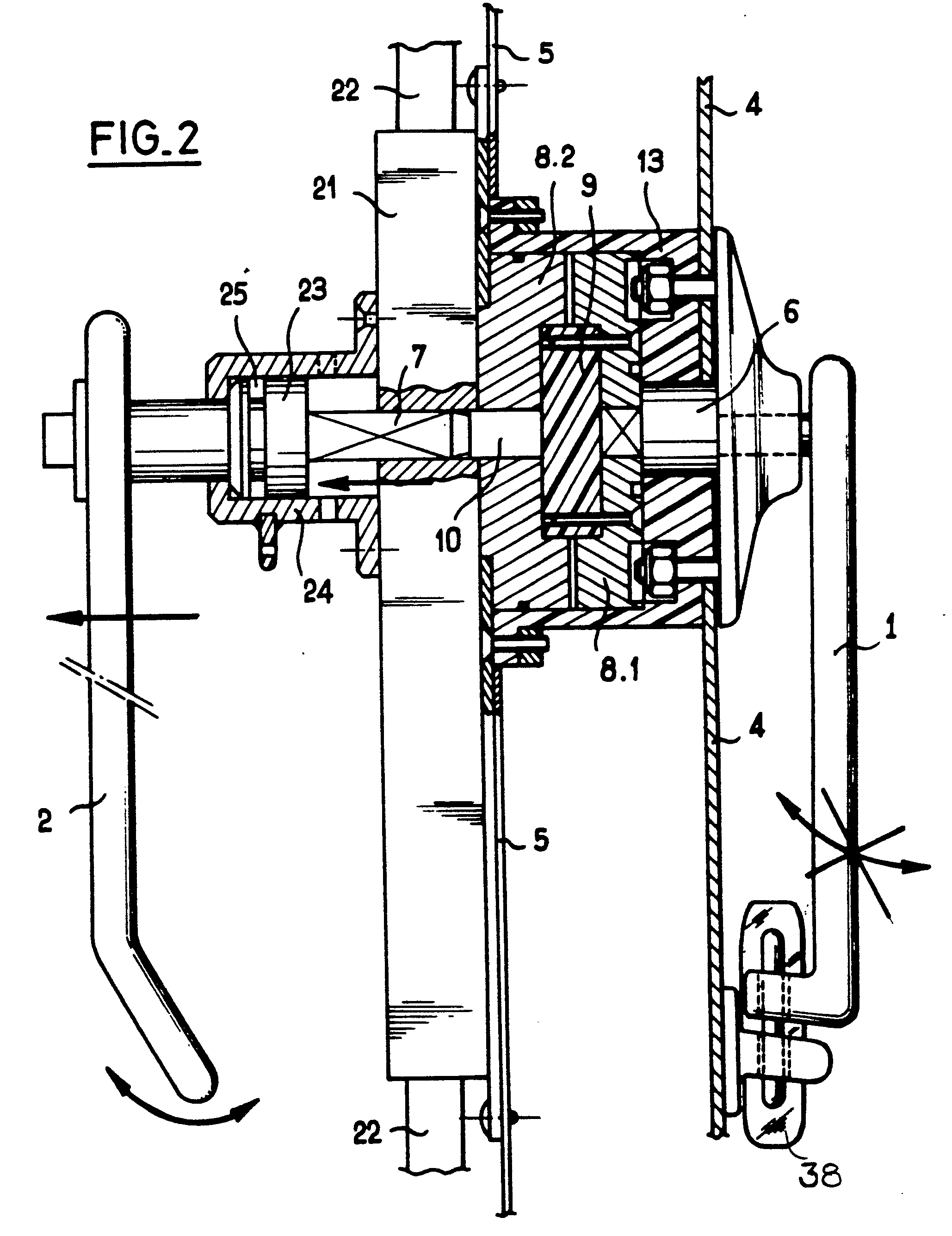 patent ep0206887b1 dispositif de commande d 39 un m canisme de verrouillage de porte google patents. Black Bedroom Furniture Sets. Home Design Ideas
