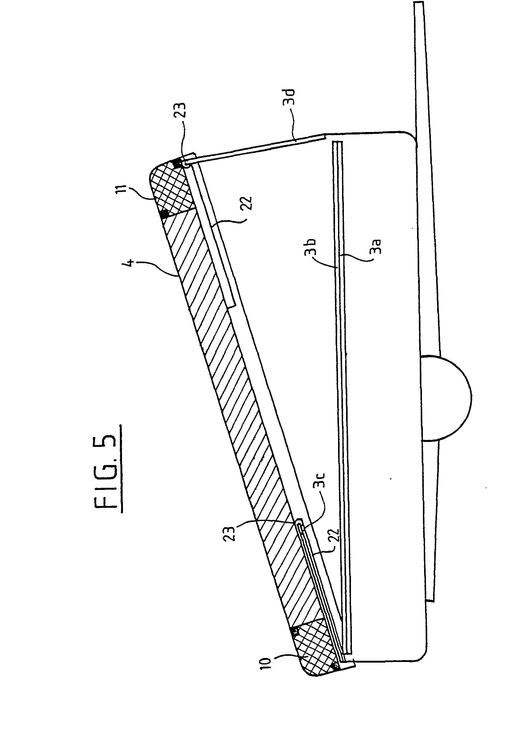 patent ep0206902b1 caravane rigide pliante l ments d 39 am nagement int rieur associ s au toit. Black Bedroom Furniture Sets. Home Design Ideas