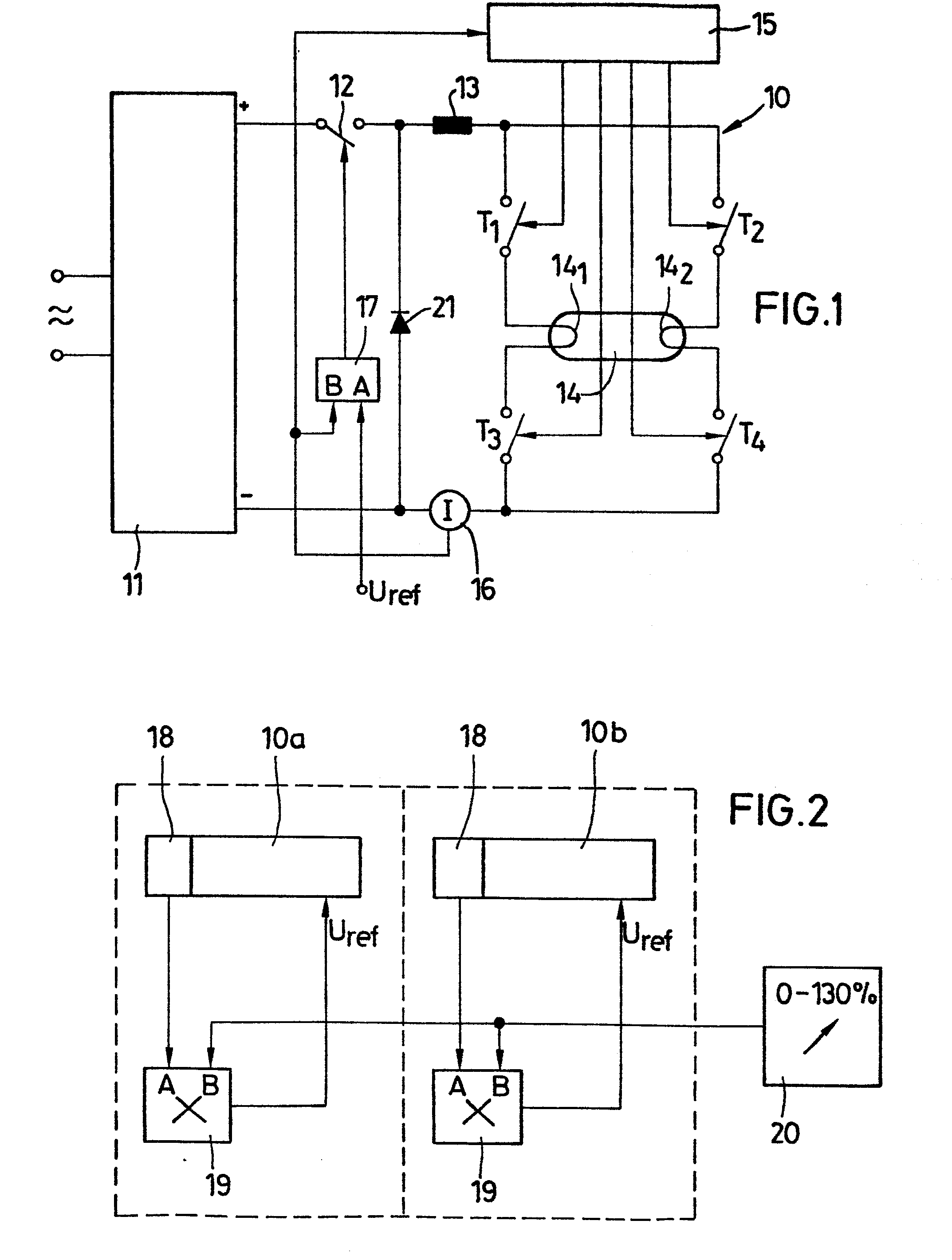 Patent Ep0208083a2 Dimmer Circuit For An Electronic Ballast Dimmable Dimming Feature Included Drawing