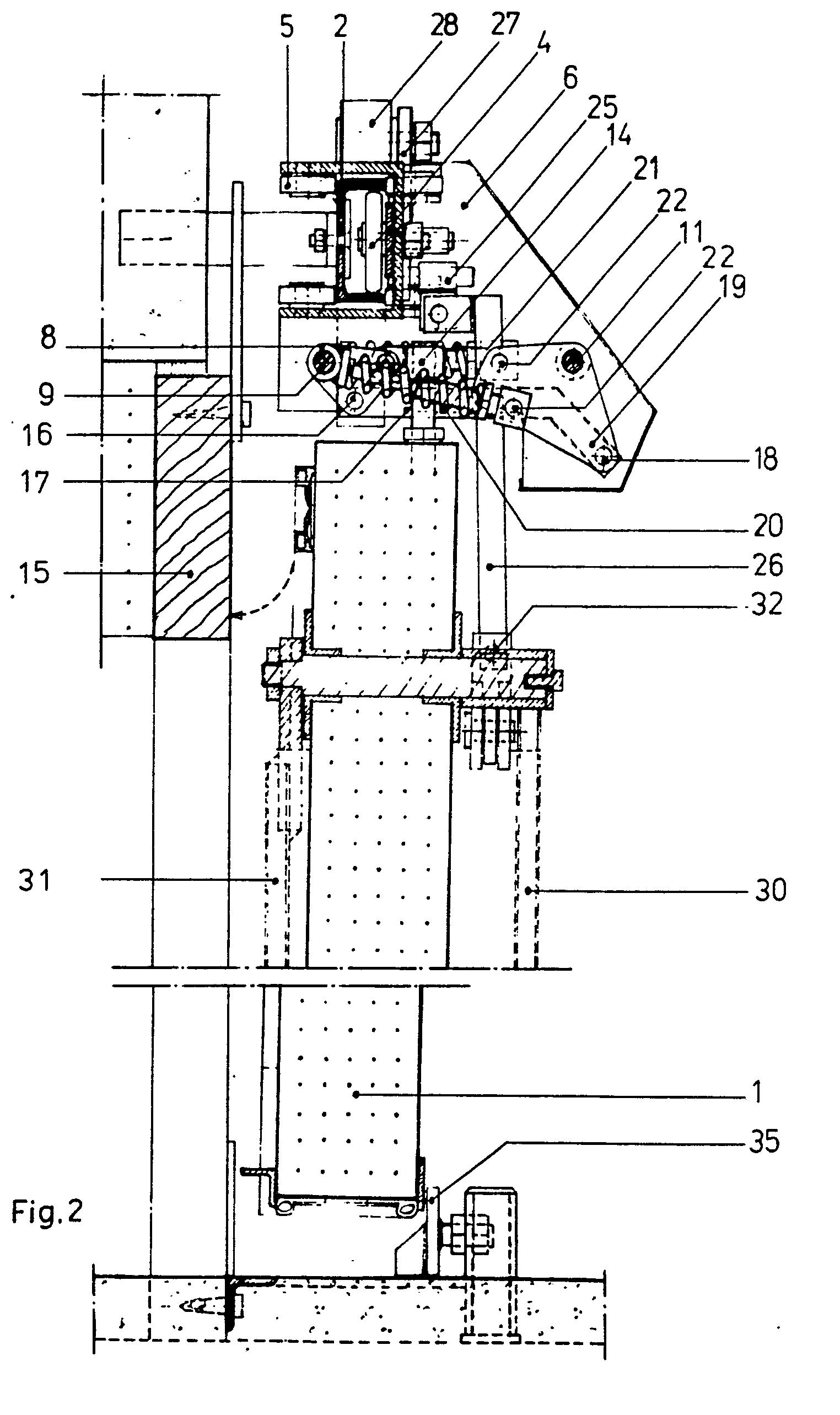 brevet ep0208117b1 porte coulissante herm tique avec force de compression et actionnement. Black Bedroom Furniture Sets. Home Design Ideas