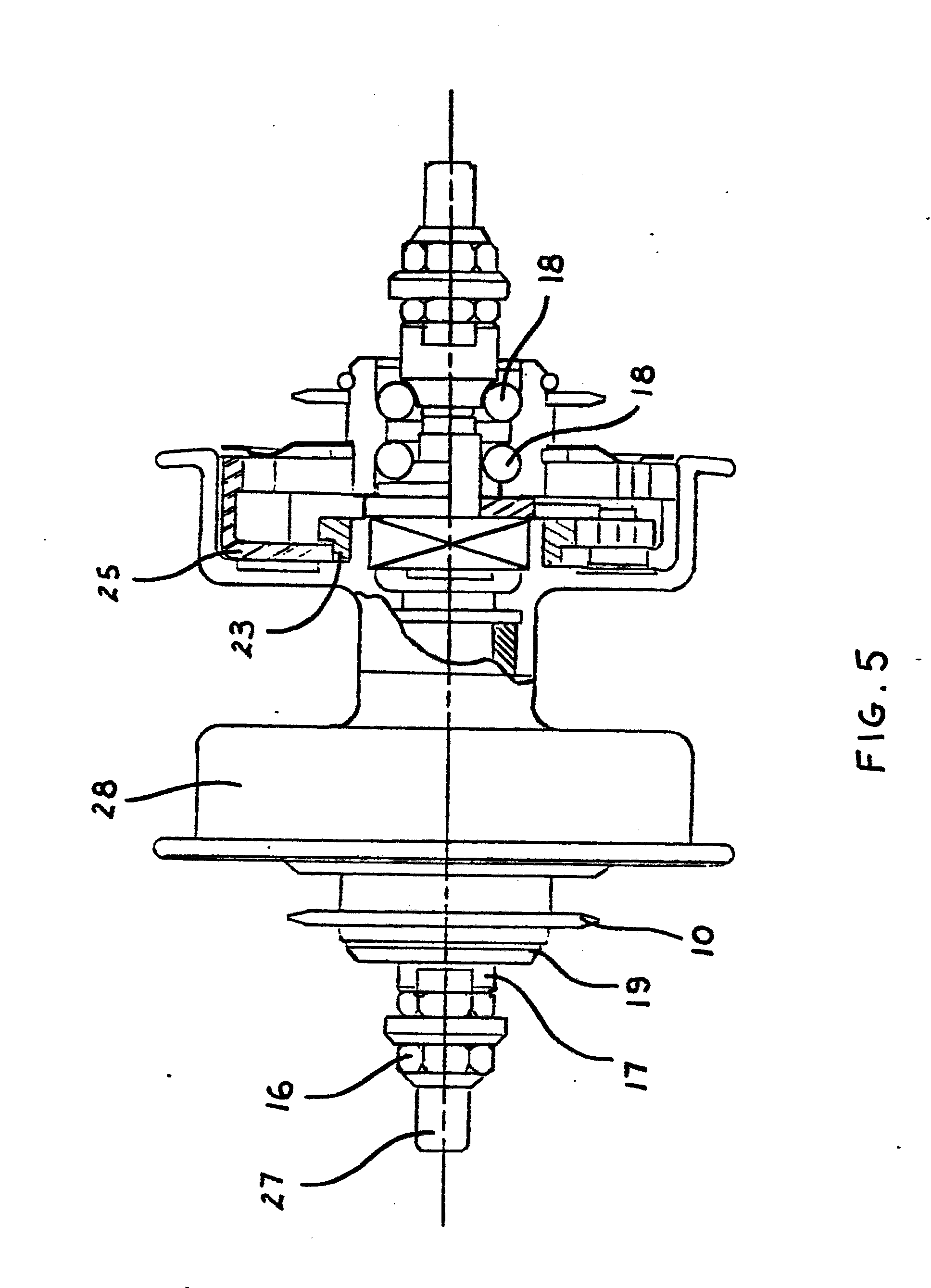 Mechanism Wheel Lever : Patent ep a propulsion mechanism for lever