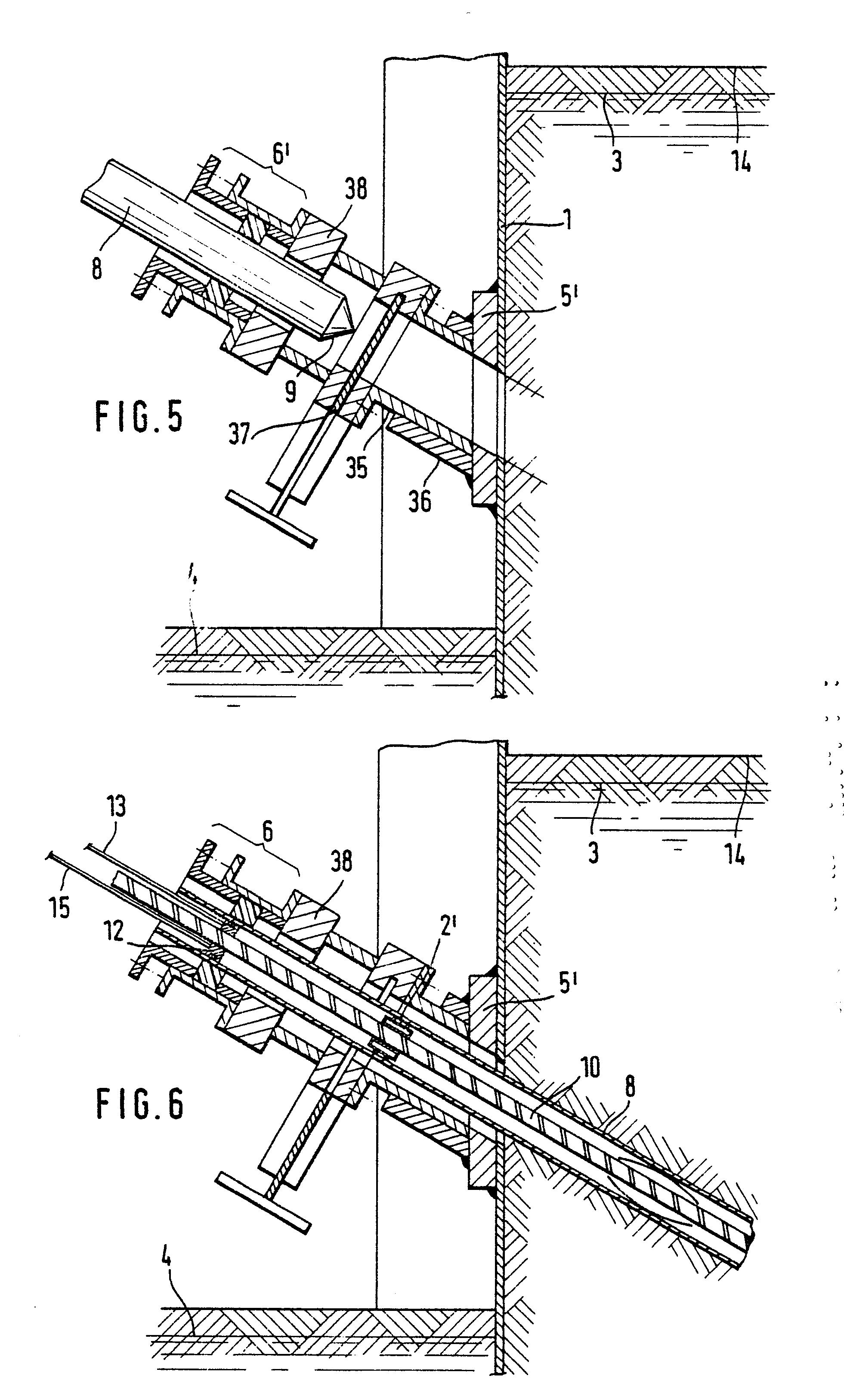 patent ep0218987a2 verfahren zum setzen eines einbauteils durch eine spundwand in eine. Black Bedroom Furniture Sets. Home Design Ideas