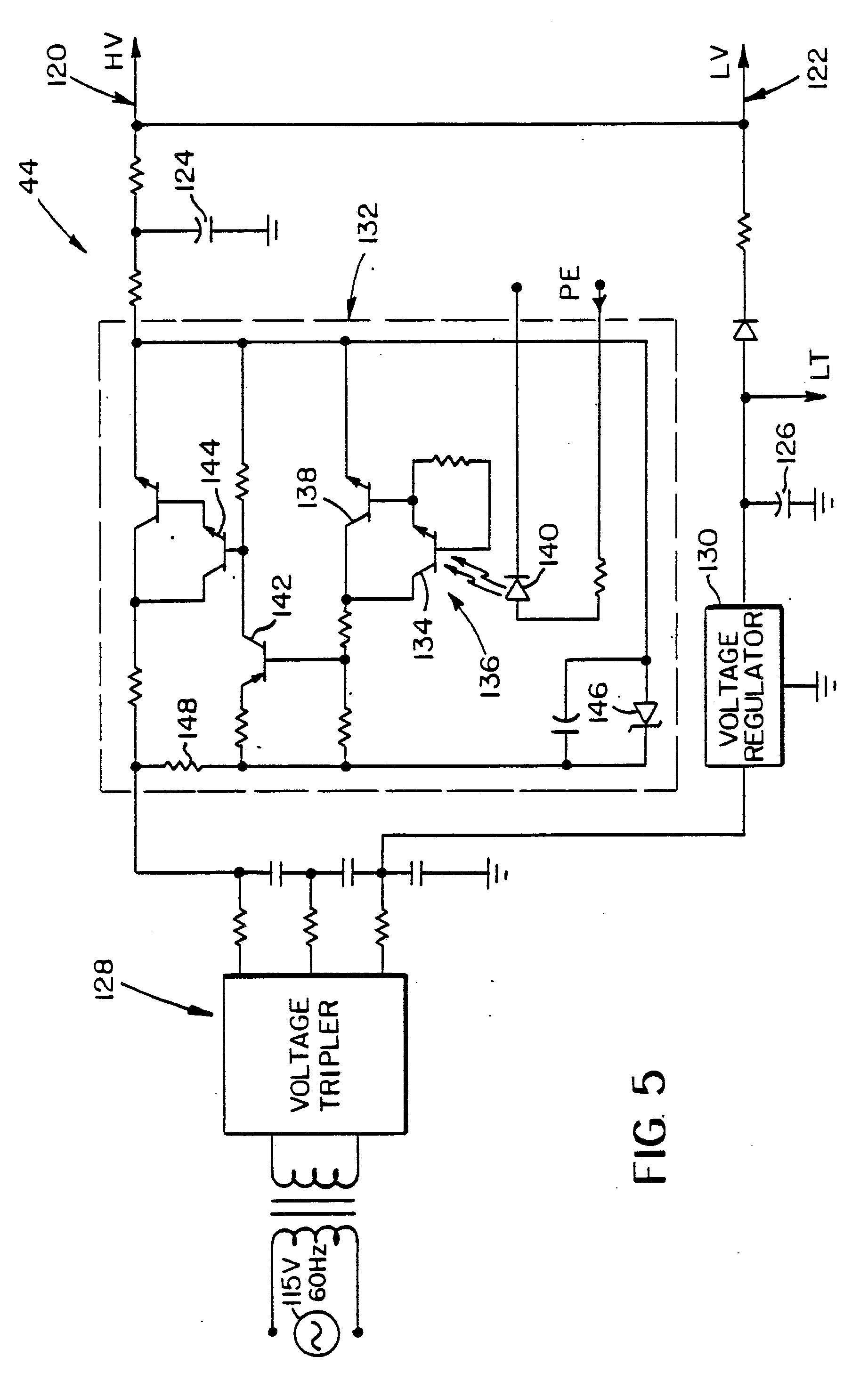 patent epb flash tube simmer circuitry for a film video patent drawing