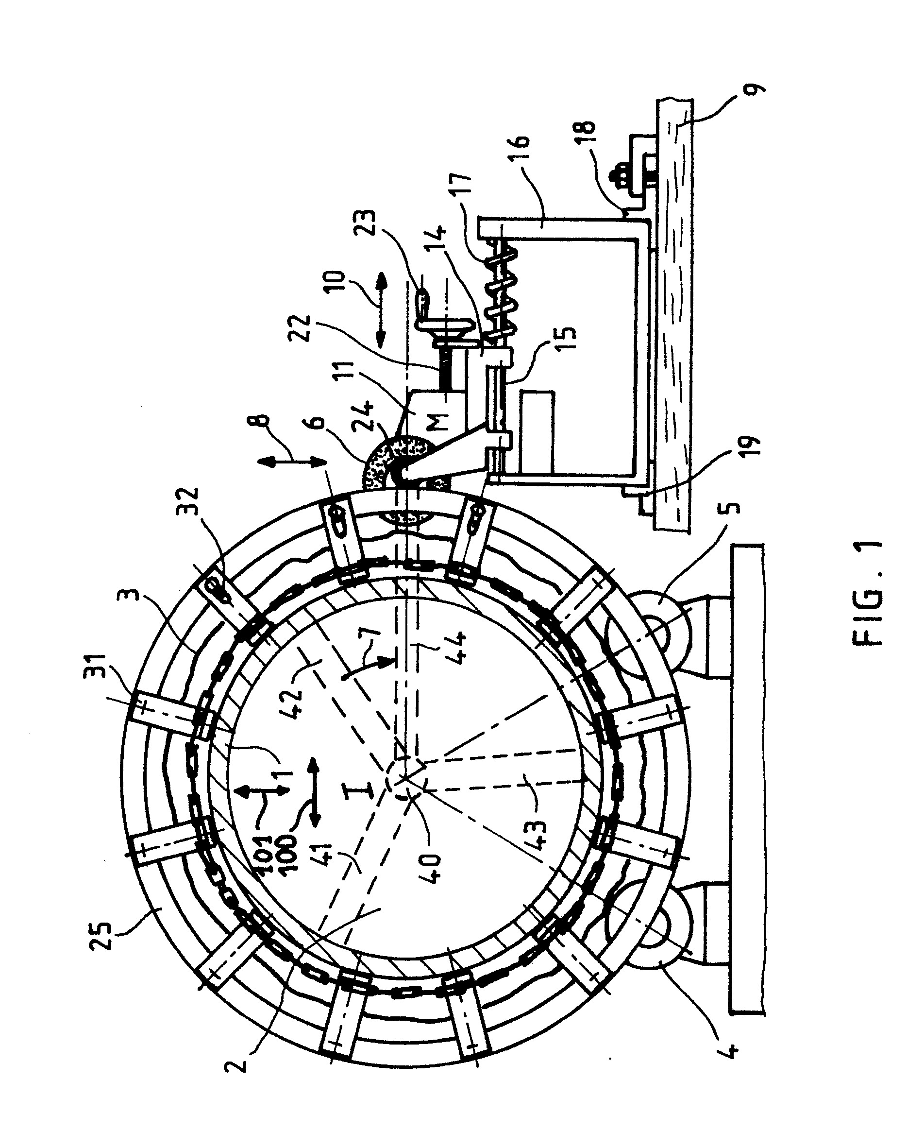 patent ep0224419a1 proc d et dispositif d 39 usinage ou de contr le sur site pour pi ces. Black Bedroom Furniture Sets. Home Design Ideas