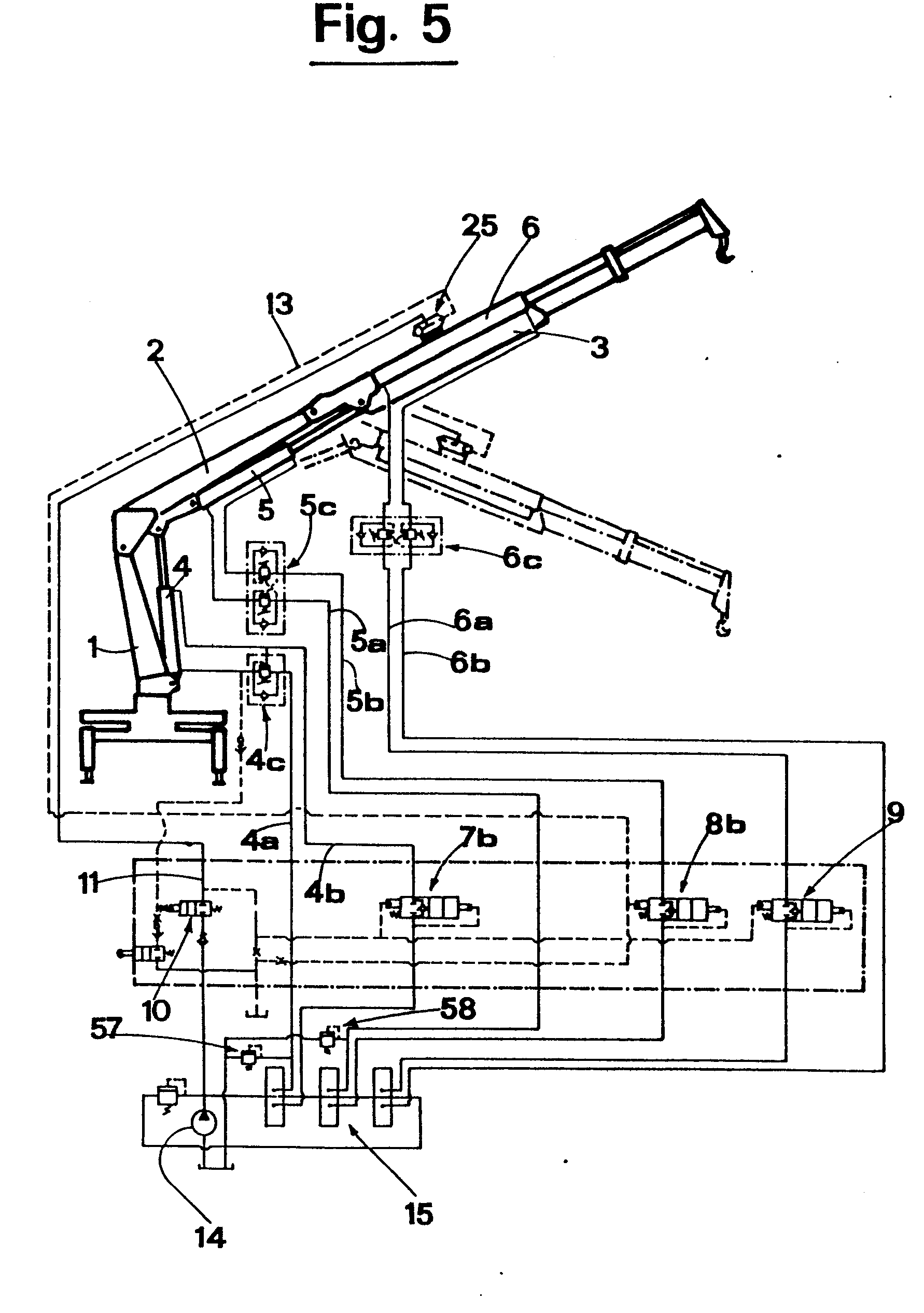 Patent EP0224446A2 A hydraulic load limiting device for