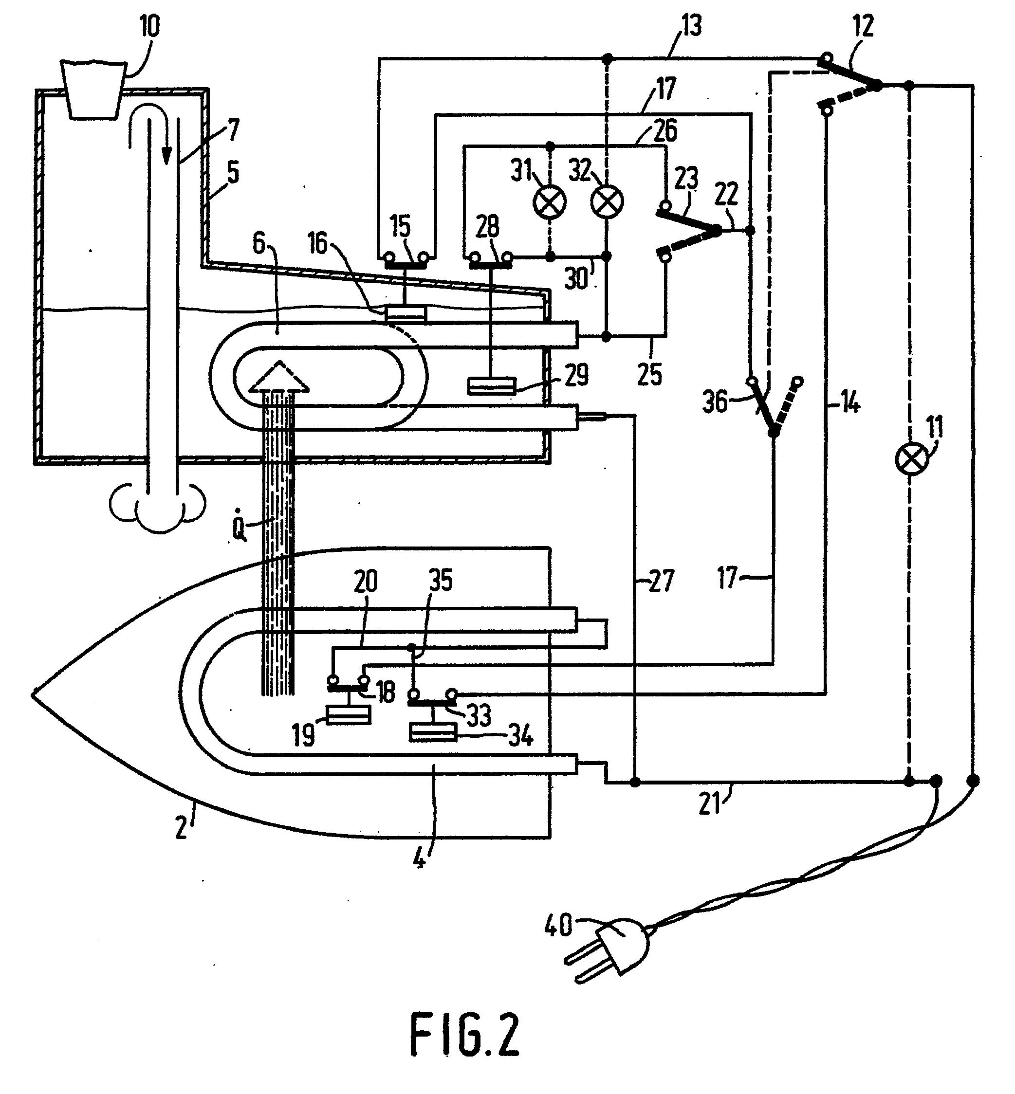 Patent Ep0232924b1 - Steam Iron