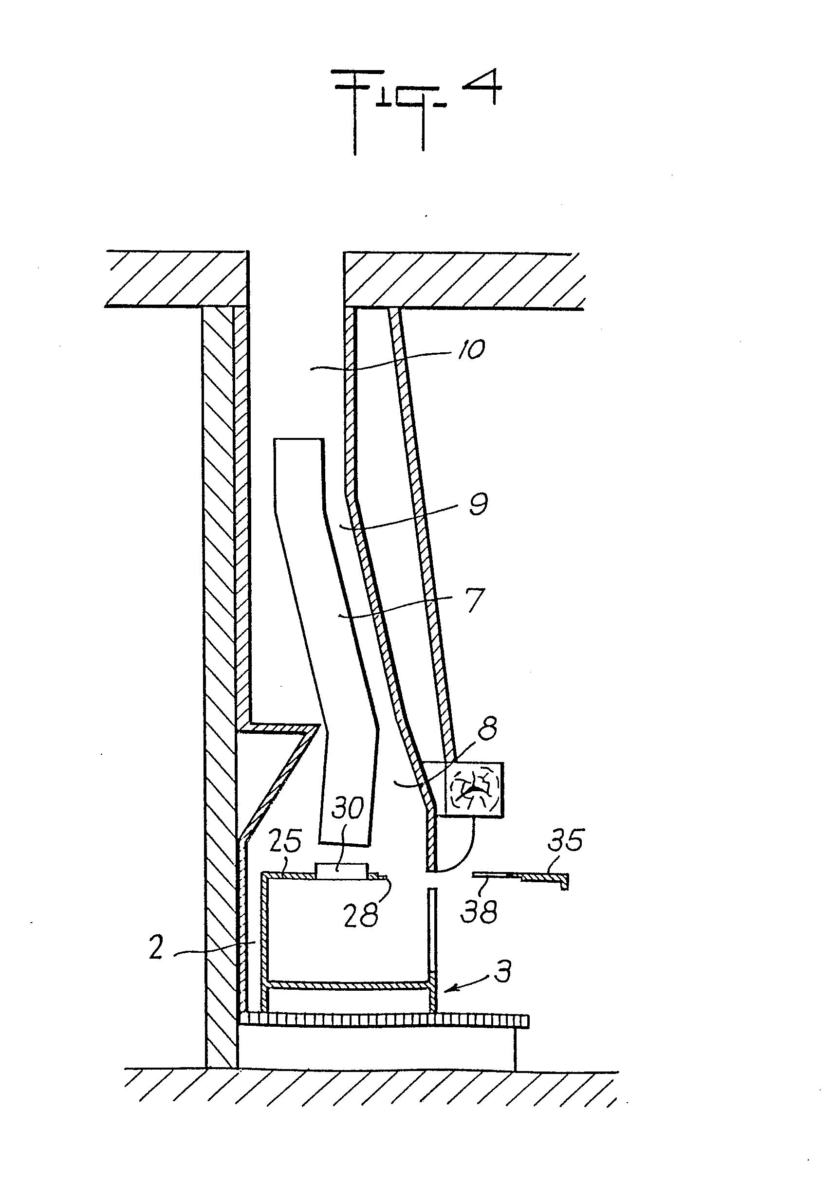Plan Cheminée Foyer Ouvert : Patent ep a appareil récupérateur de chaleur pour