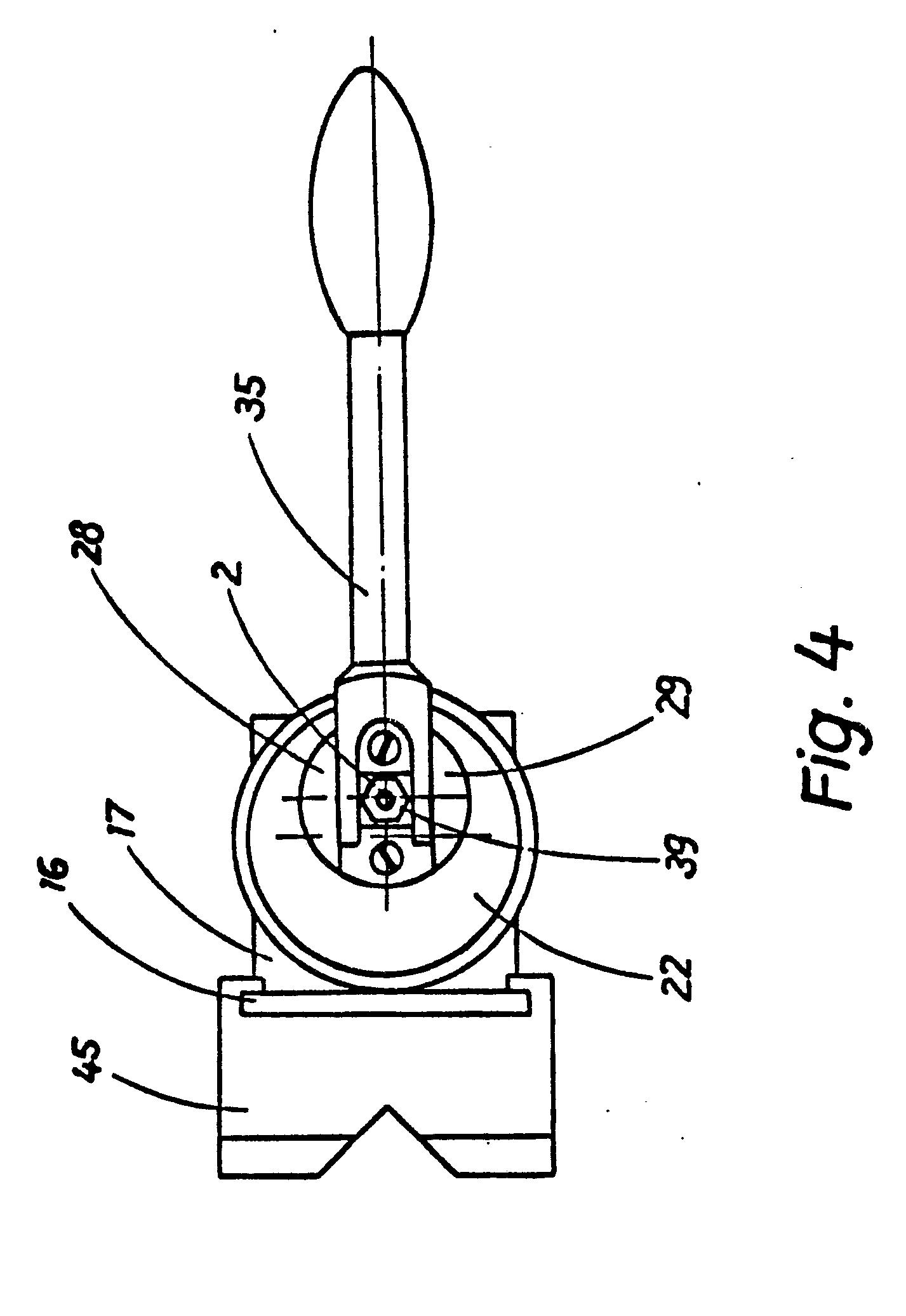 patent ep0236672b1 spannvorrichtung zum spannen von werkst cken auf werktischen oder. Black Bedroom Furniture Sets. Home Design Ideas