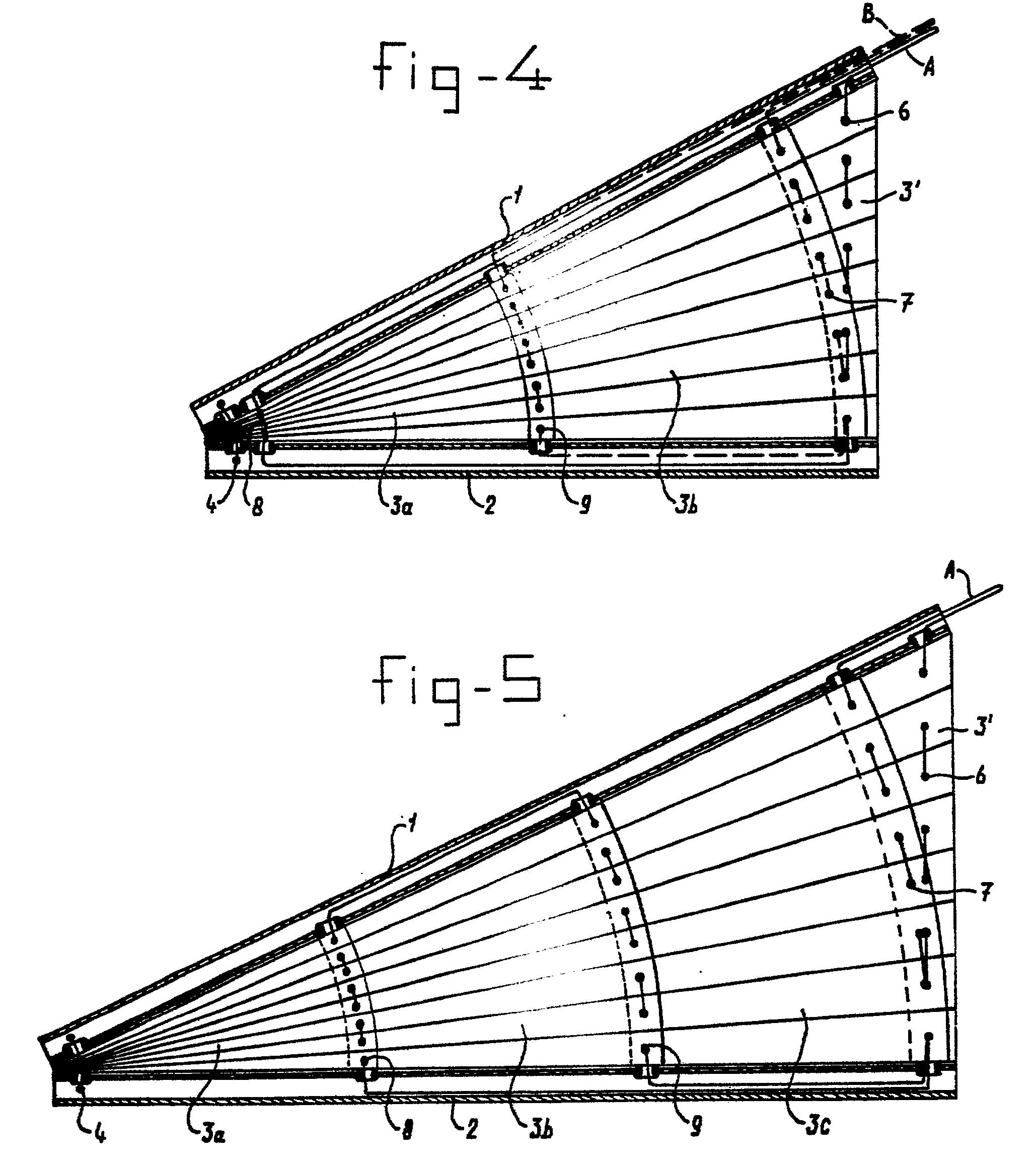 Patent ep0240065b1 store repliable pour fen tre for Fenetre triangulaire