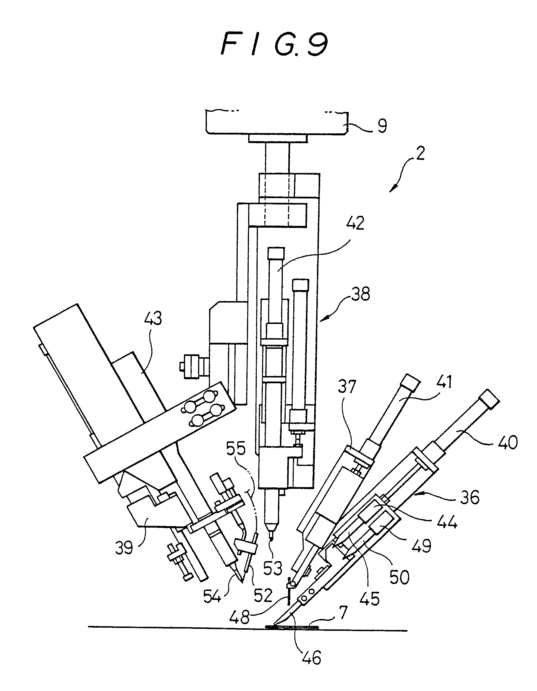 patent ep0240835a2 - a printing circuit board jumper wire wiring device