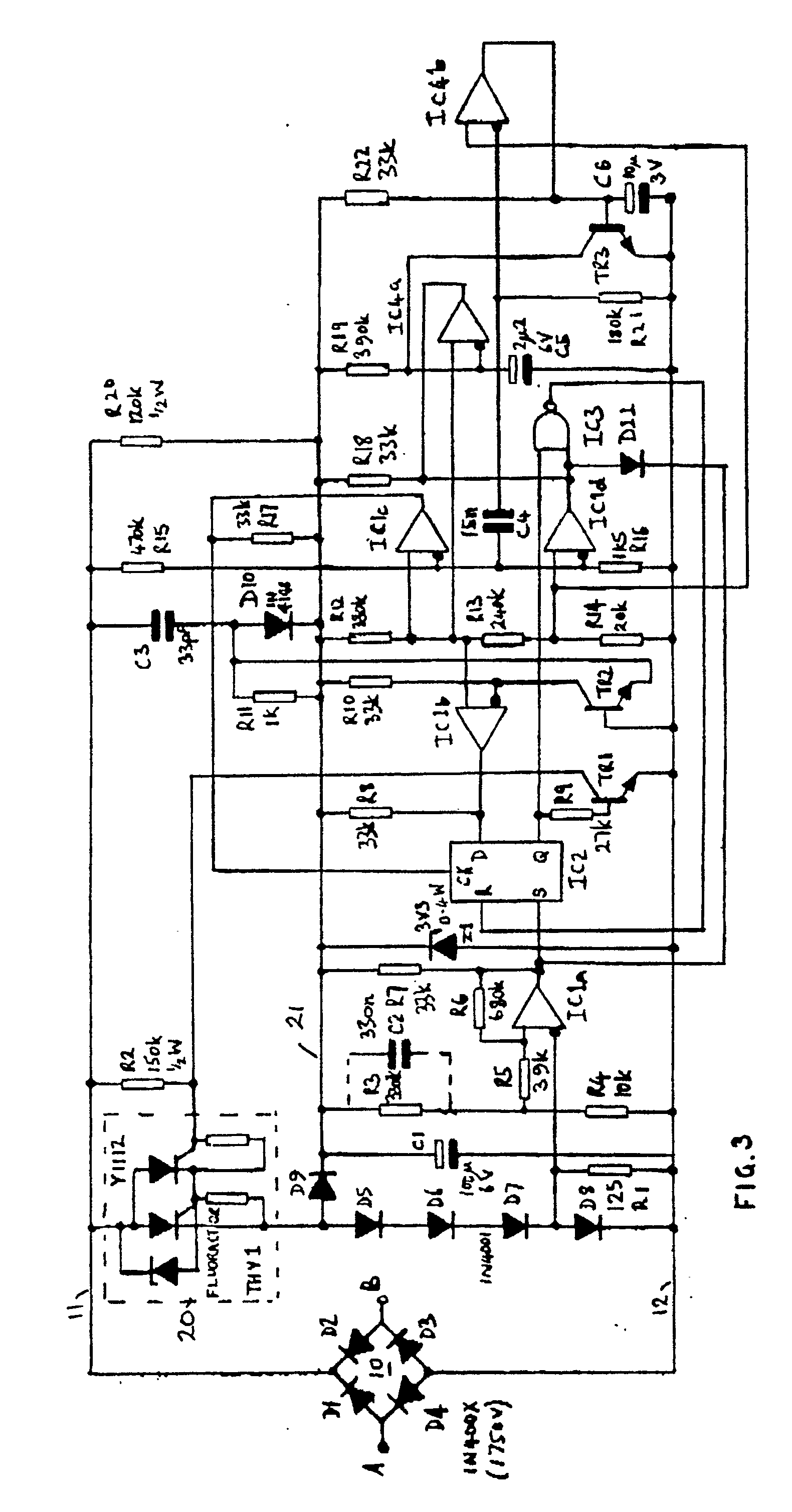 patent ep0249485b1 - starter circuit for a fluorescent tube lamp