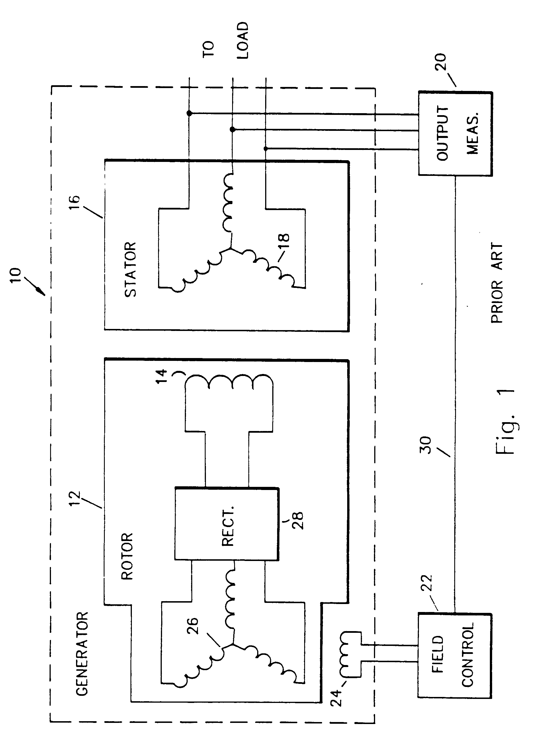 Generator Exciter Wiring Diagram : Patent ep b brushless generator exciter using