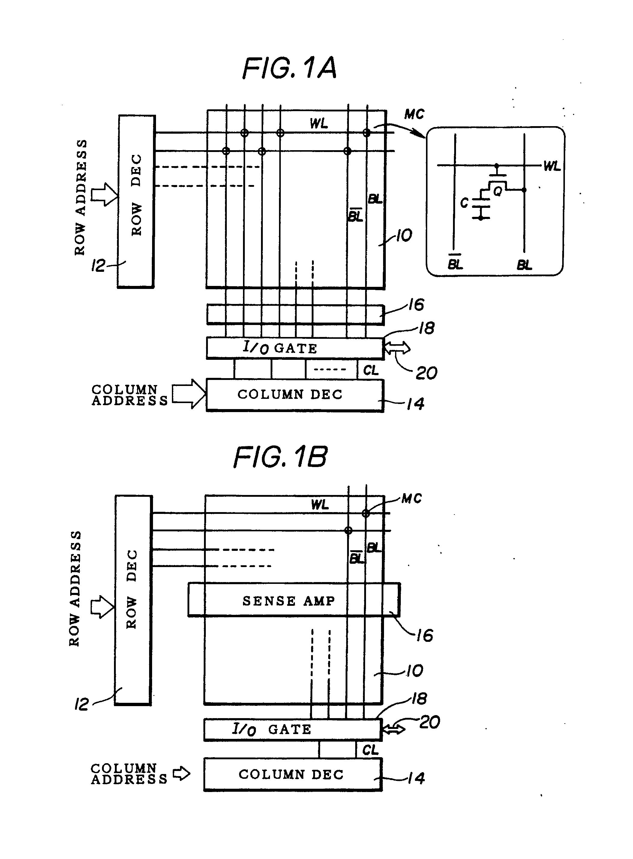 专利ep0260503b1 - semiconductor memory device